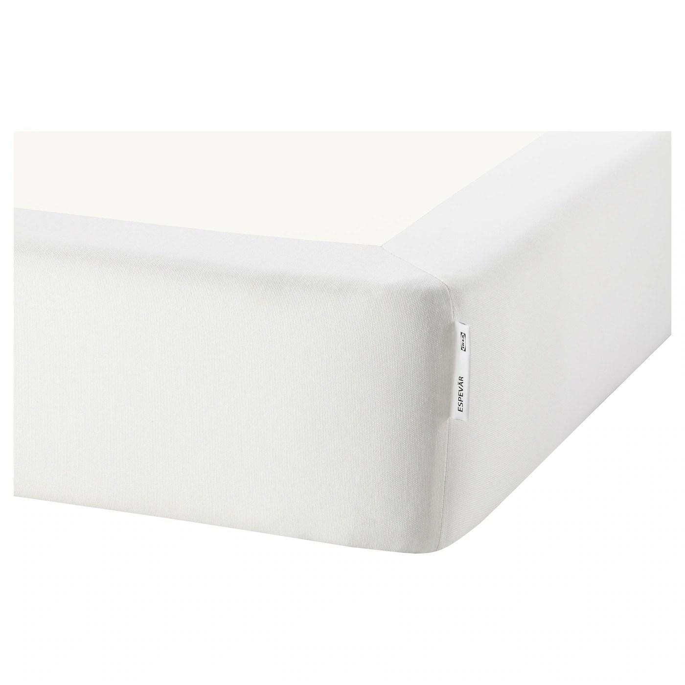 Espevar Housse Pour Sommier A Ressorts Blanc 140x200 Cm Ikea