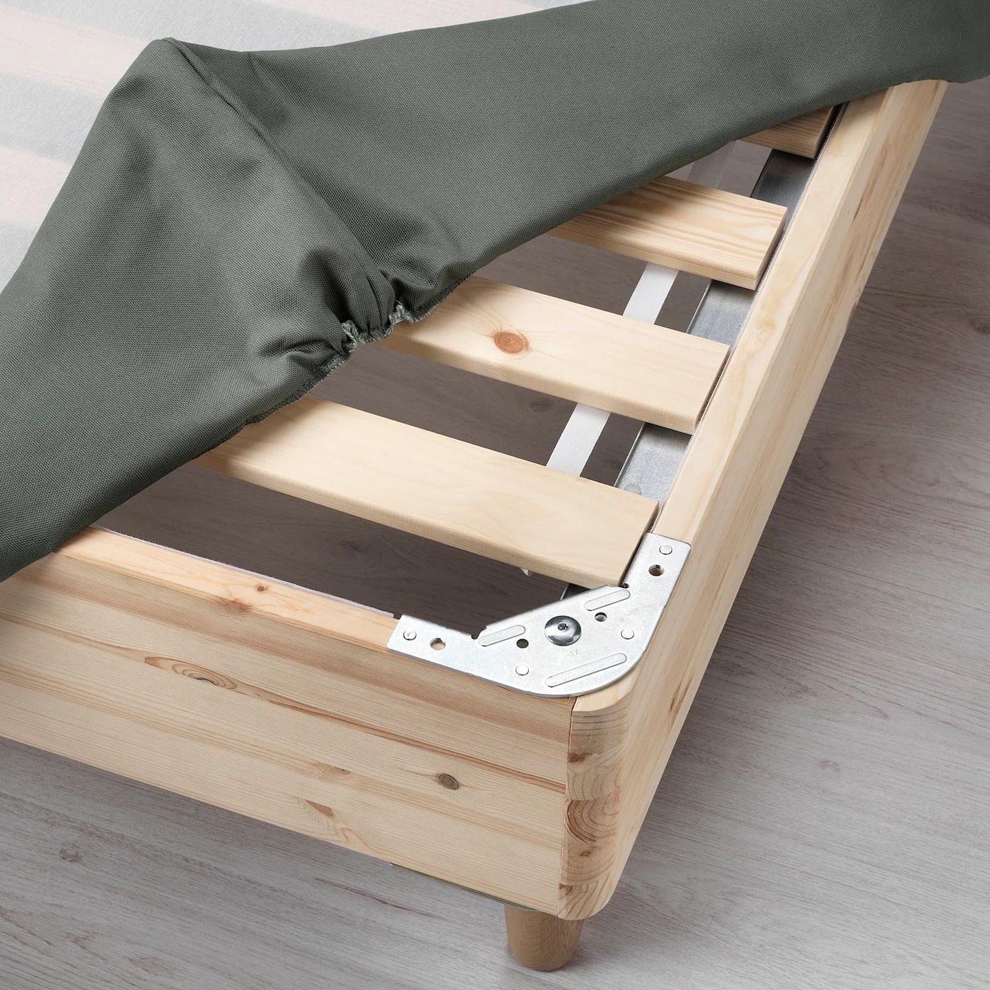 Espevar Sommier A Lattes Gris Fonce 140x200 Cm Ikea