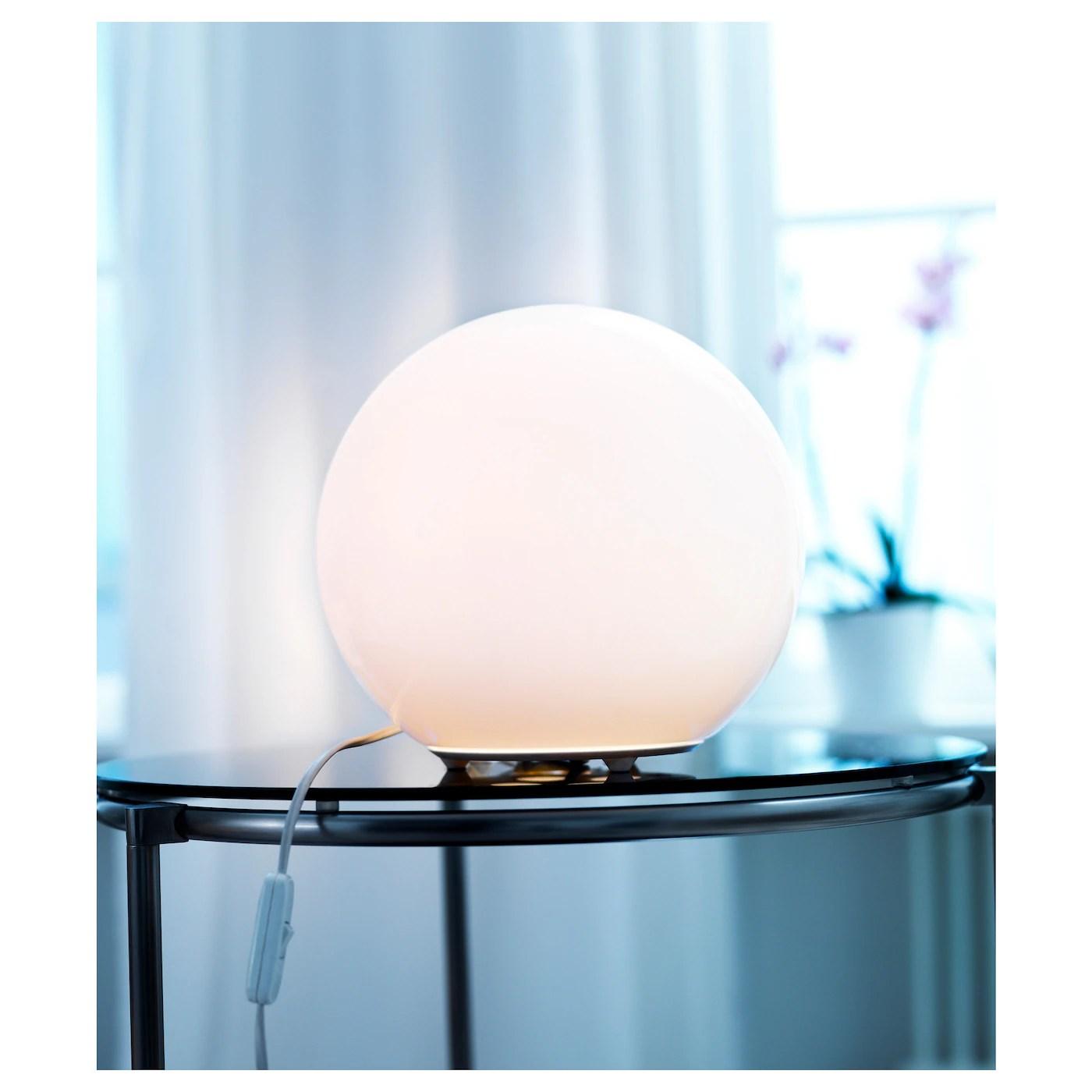 Fado Lampe De Table Blanc 25 Cm Ikea