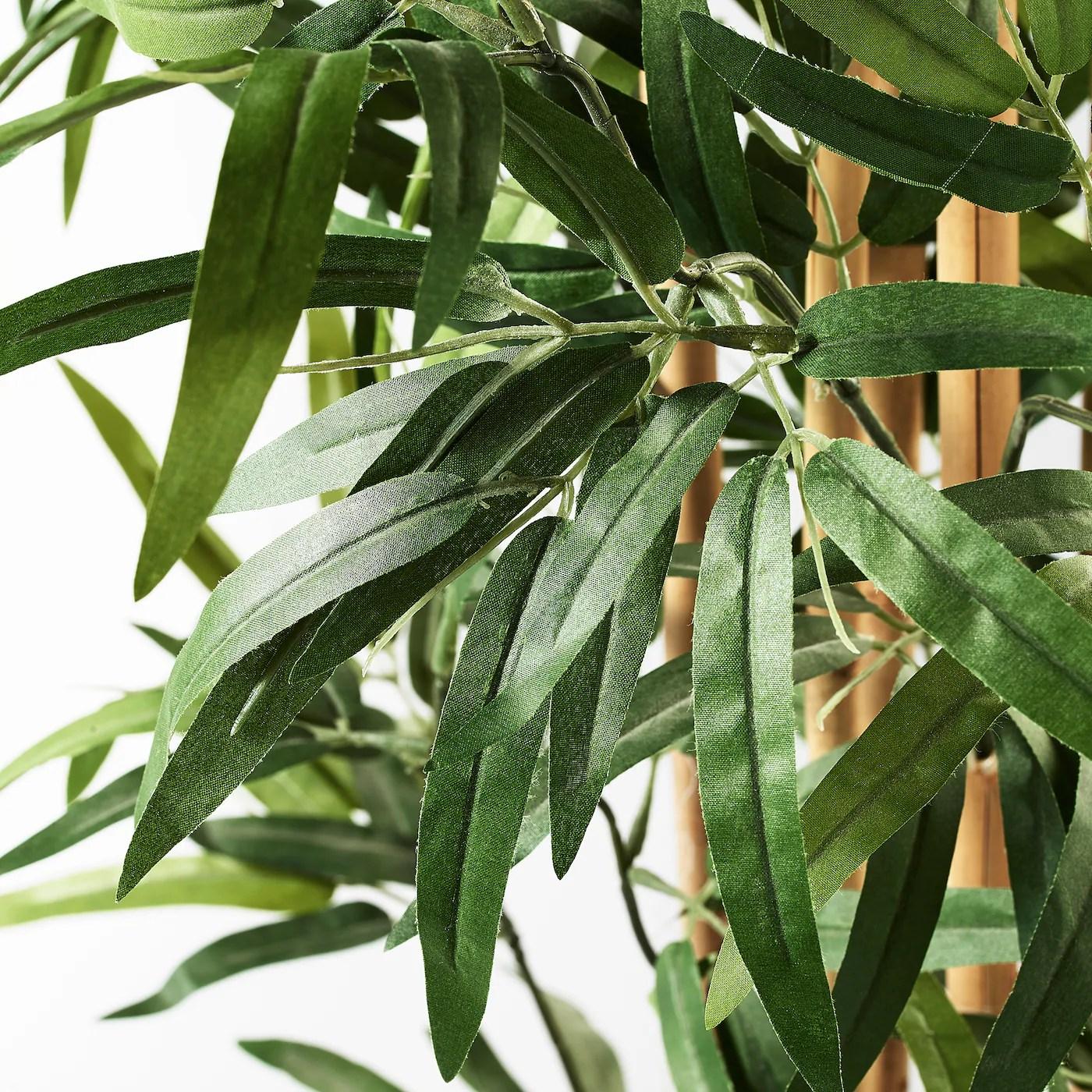 Fejka Plante Artificielle En Pot Interieur Exterieur Bambou 23 Cm Ikea