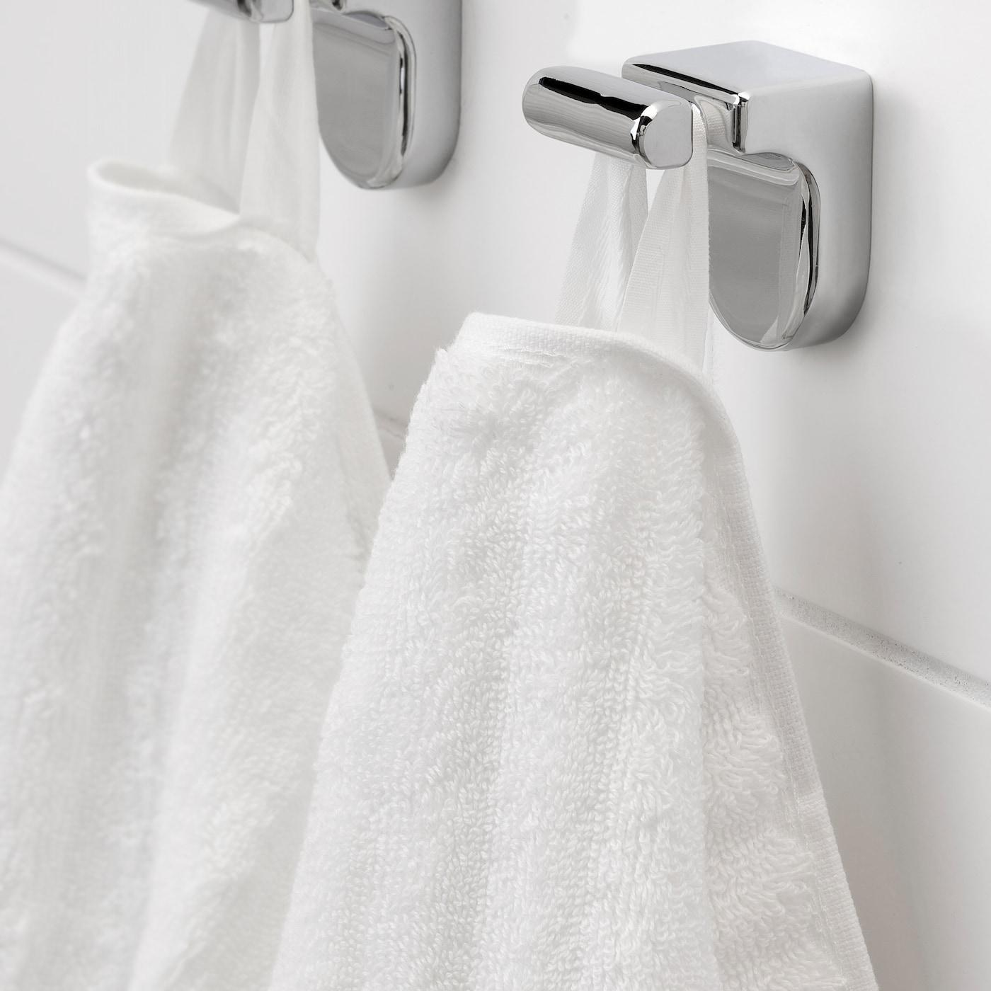 Flodalen Drap De Bain Blanc 70x140 Cm Ikea