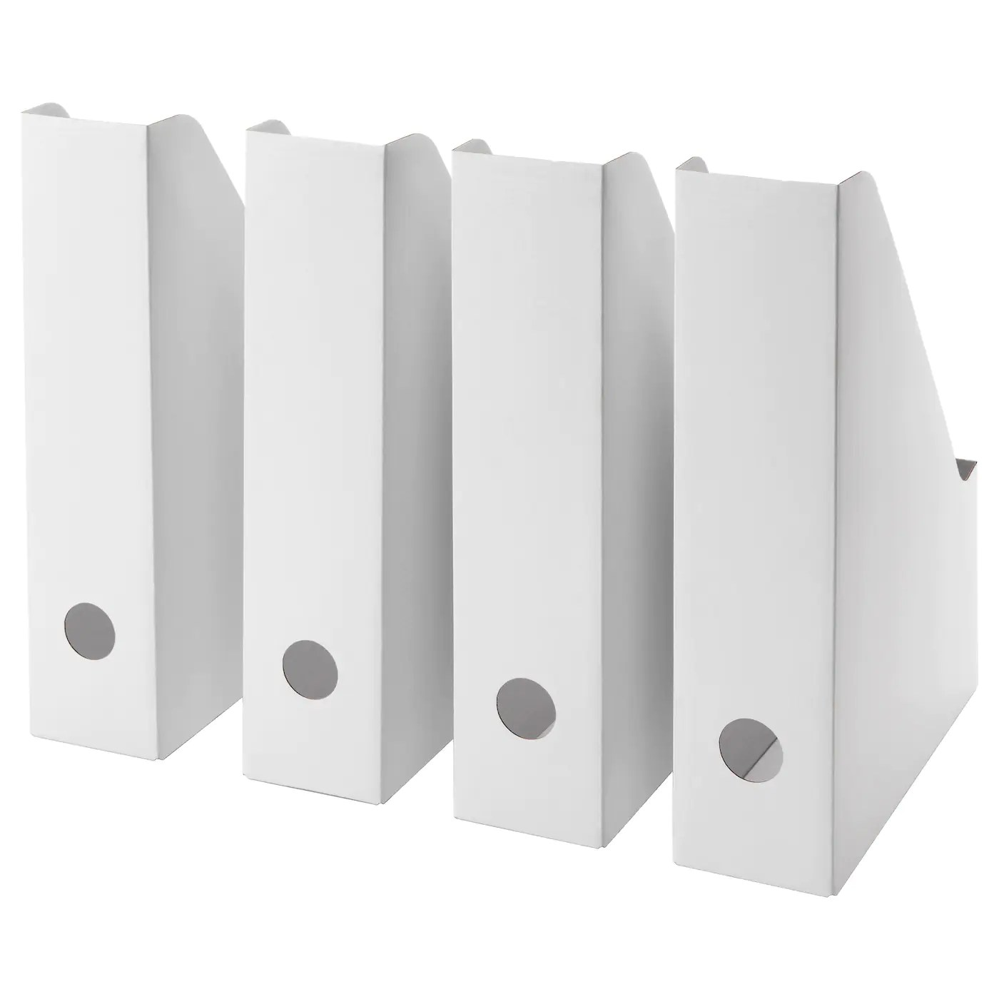 Fluns Range Revues Blanc Materiau Durable Ikea
