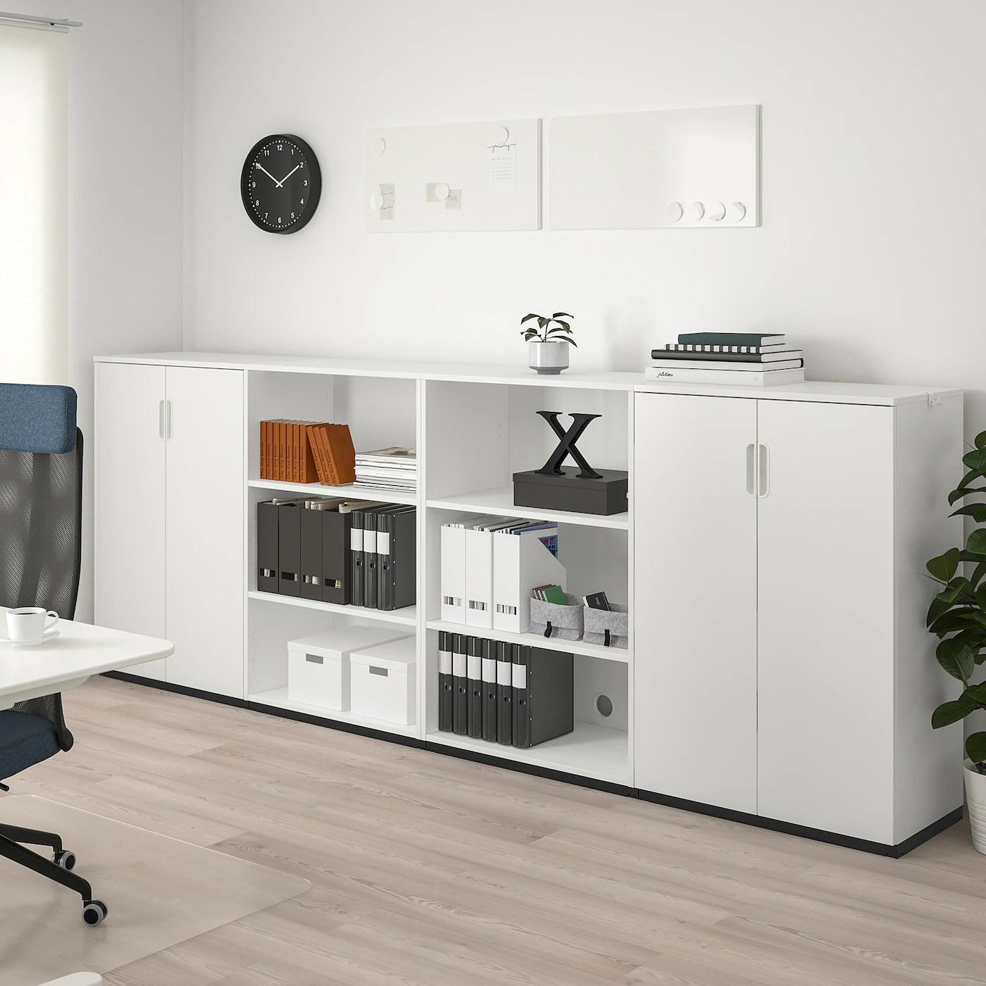 Galant Combinaison De Rangement Blanc 320x120 Cm Ikea