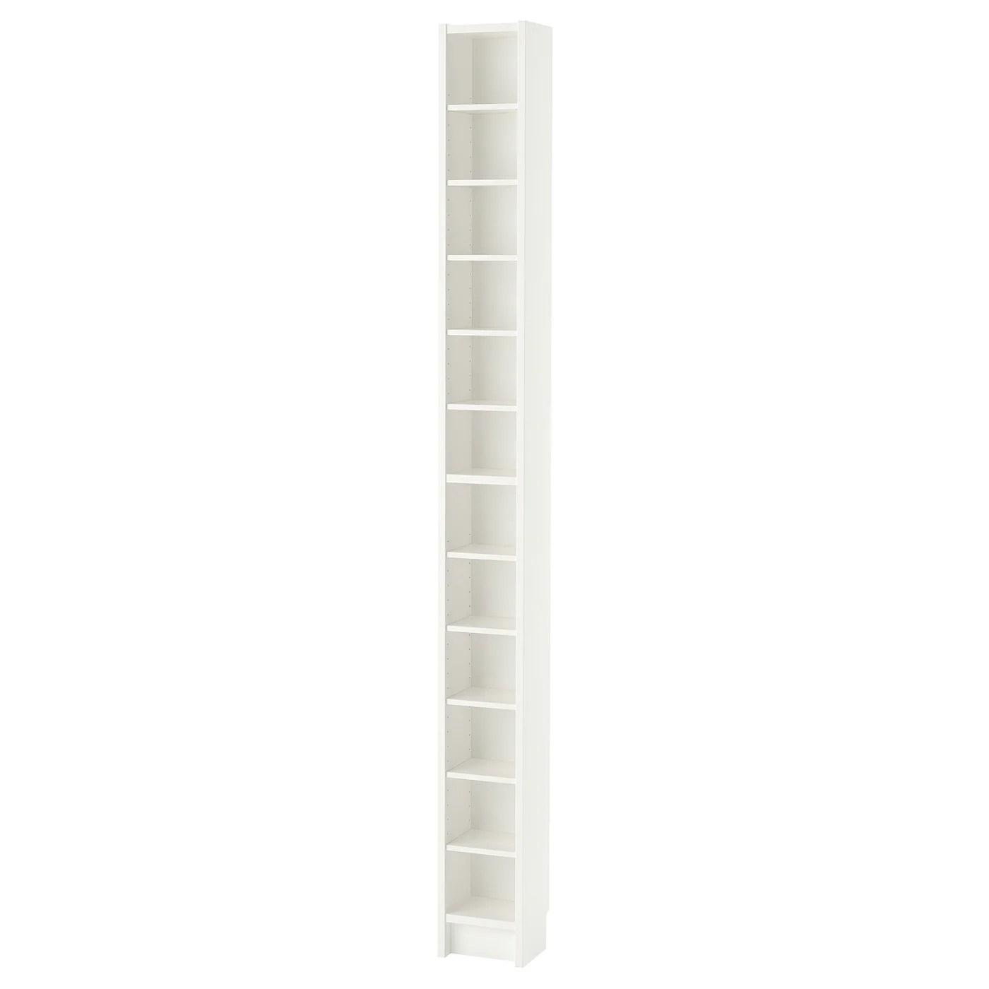 gnedby bibliotheque blanc 202 cm