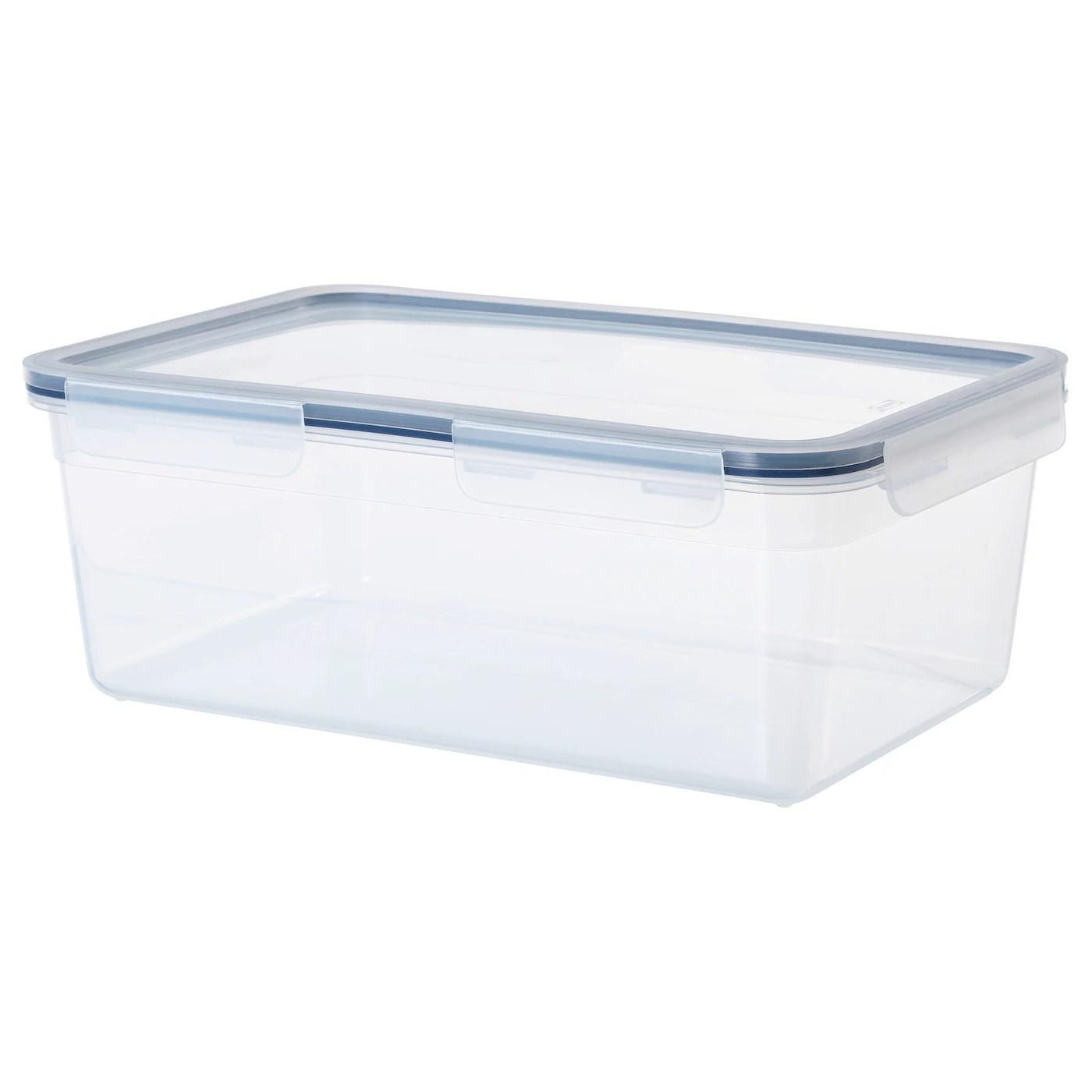 ikea 365 boite de conservation rectangulaire plastique 5 2 l