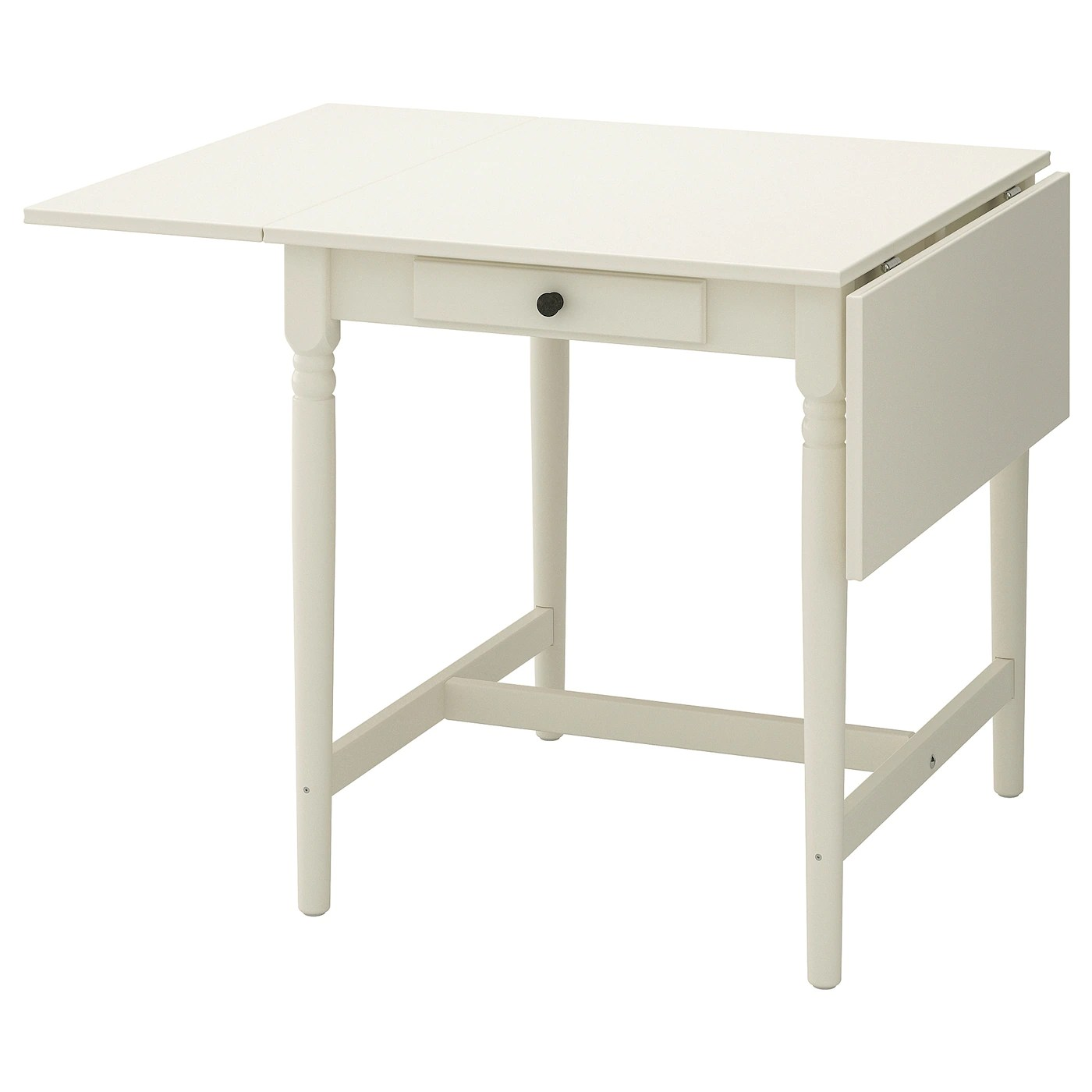 Ingatorp Table A Rabats Blanc Ikea