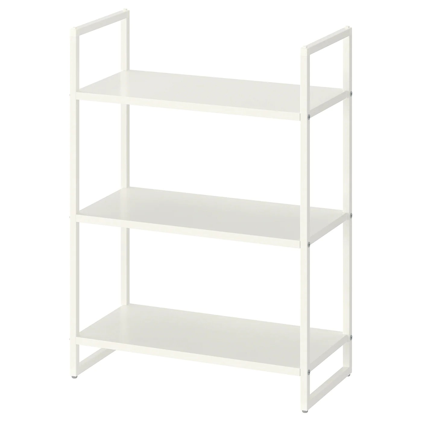jonaxel etagere blanc 25x51x70 cm