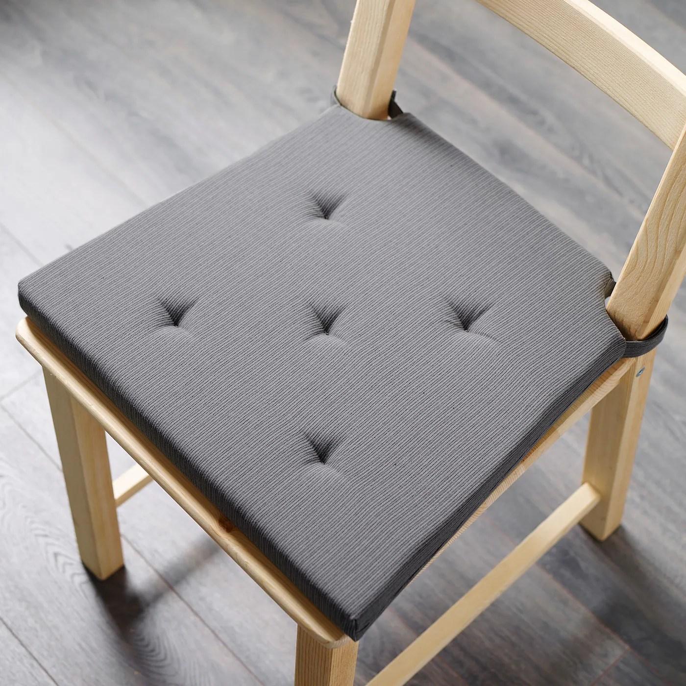 justina carreau de chaise gris 35 42x40x4 0 cm