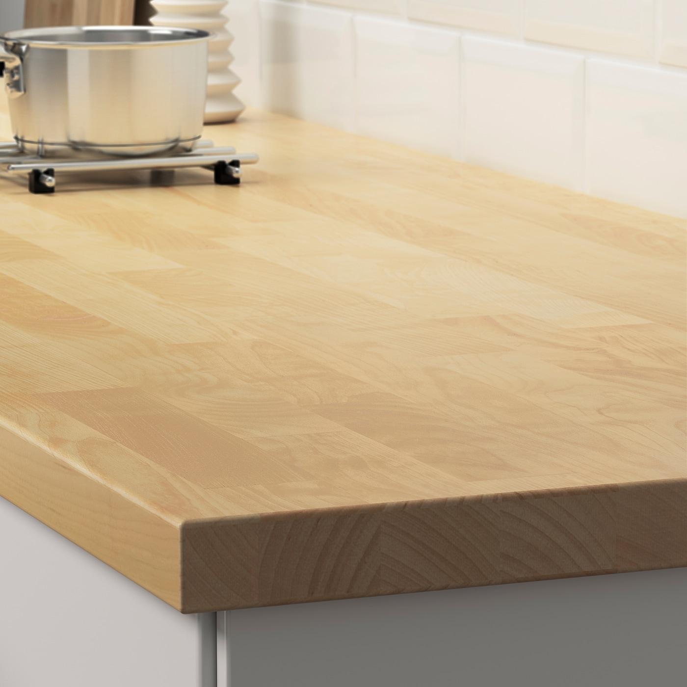 Karlby Plan De Travail Bouleau Plaque 186x3 Ikea