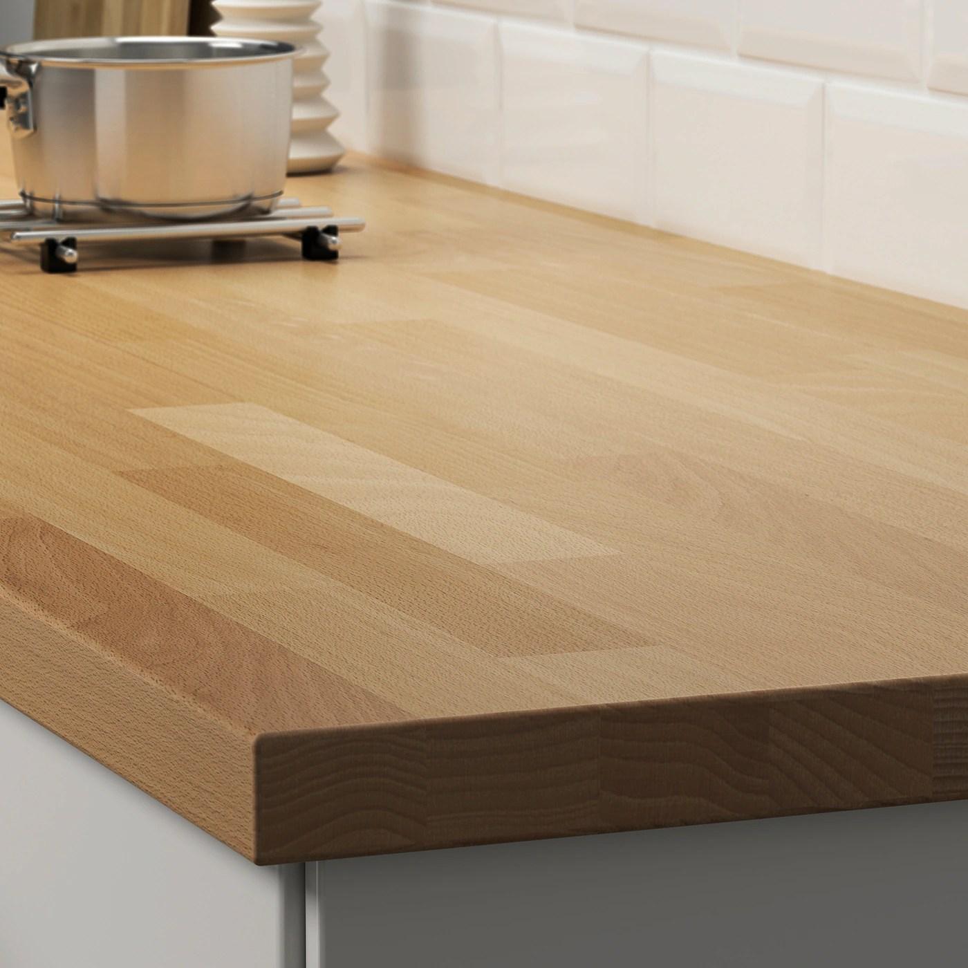 Karlby Plan De Travail Hetre Plaque 246x3 Ikea