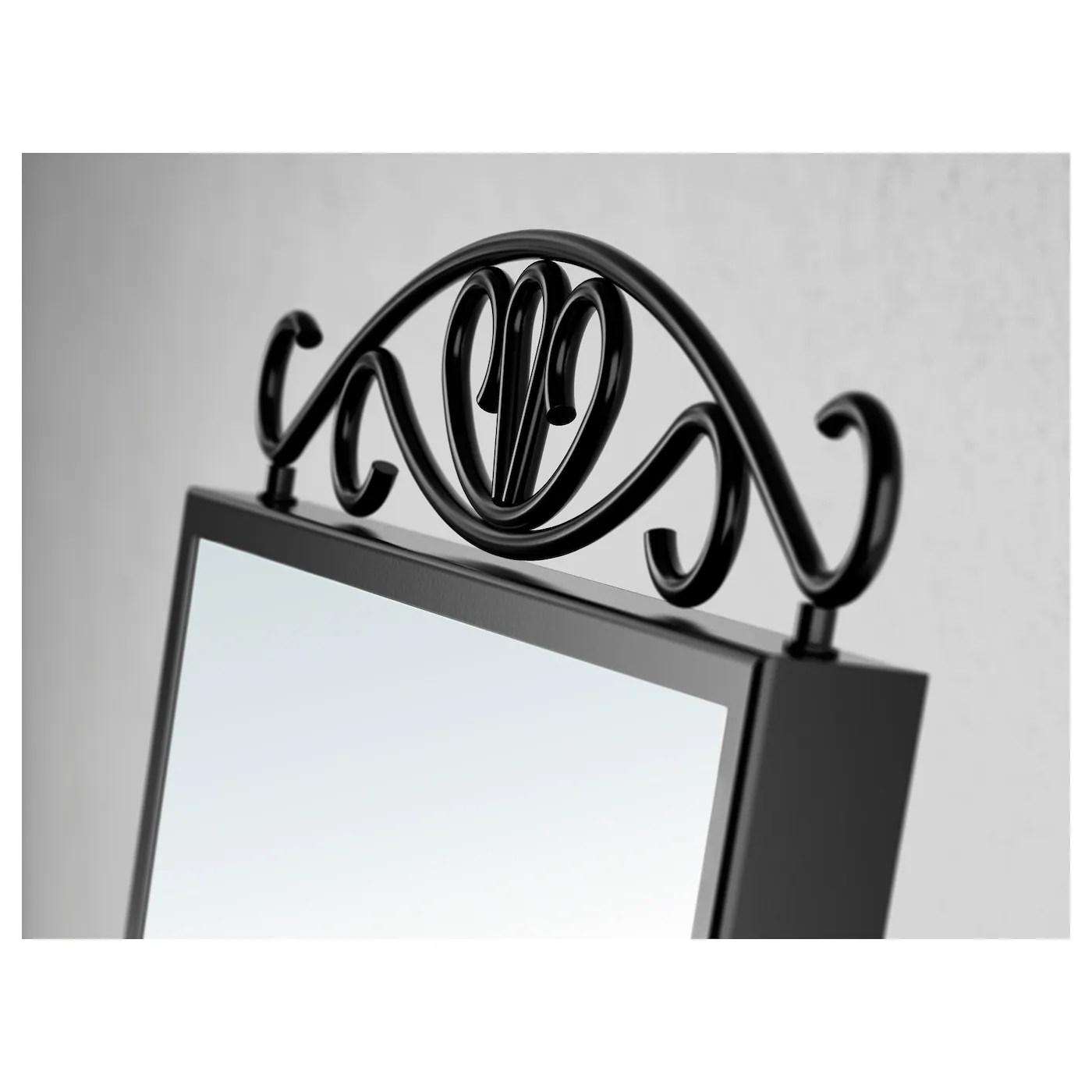 Karmsund Miroir De Table Noir 27x43 Cm Ikea
