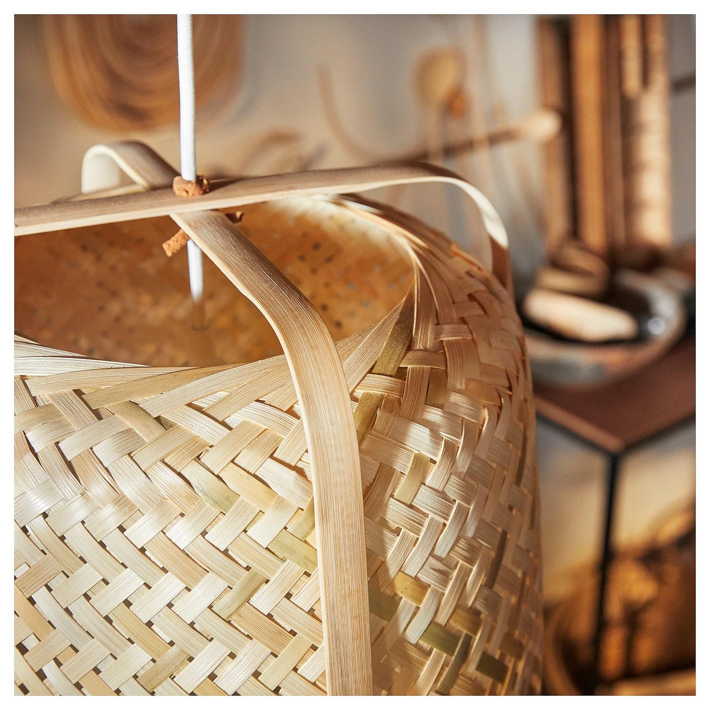 Knixhult Suspension Bambou Materiau Durable Ikea