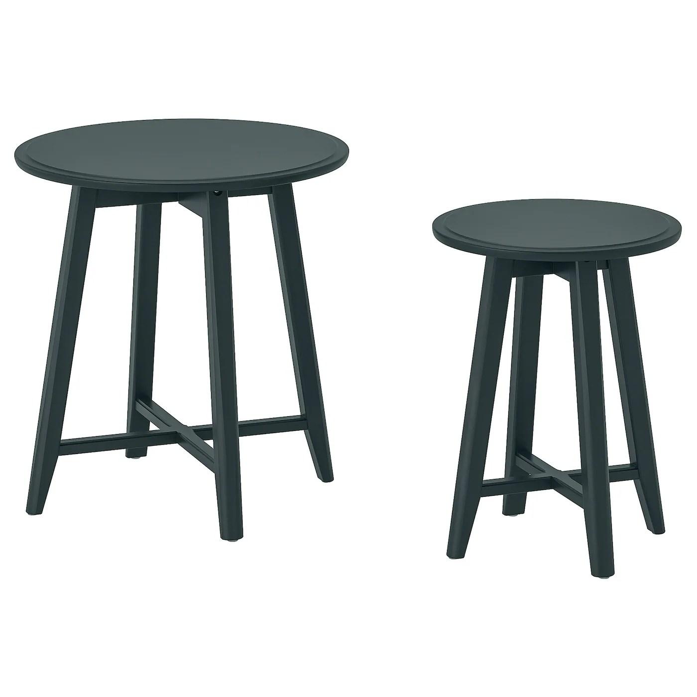 Maison Ikea Hol En Bois Boite De Stockage Panier A Linge Side Table Solutions De Rangement