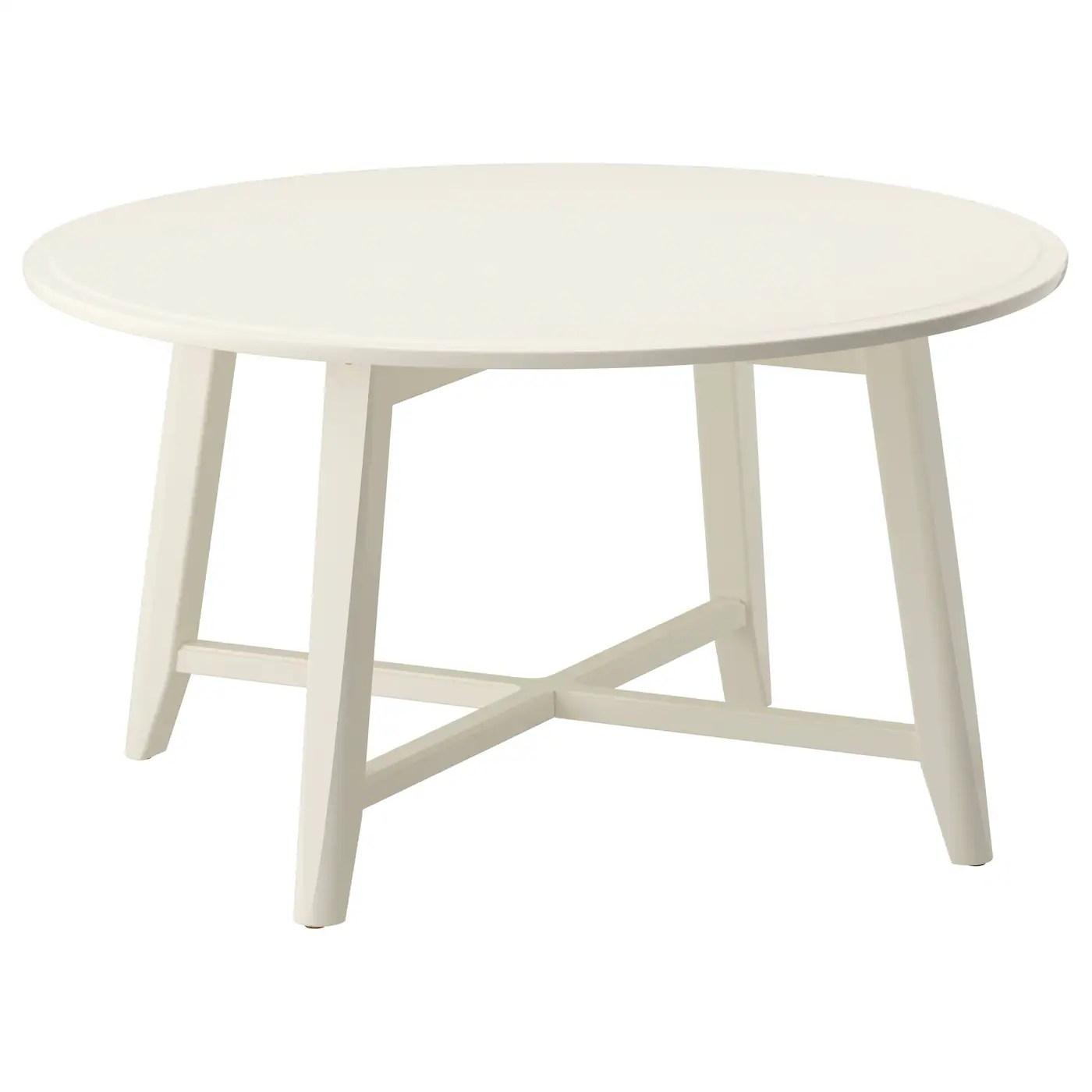 Kragsta Table Basse Blanc 90 Cm Ikea