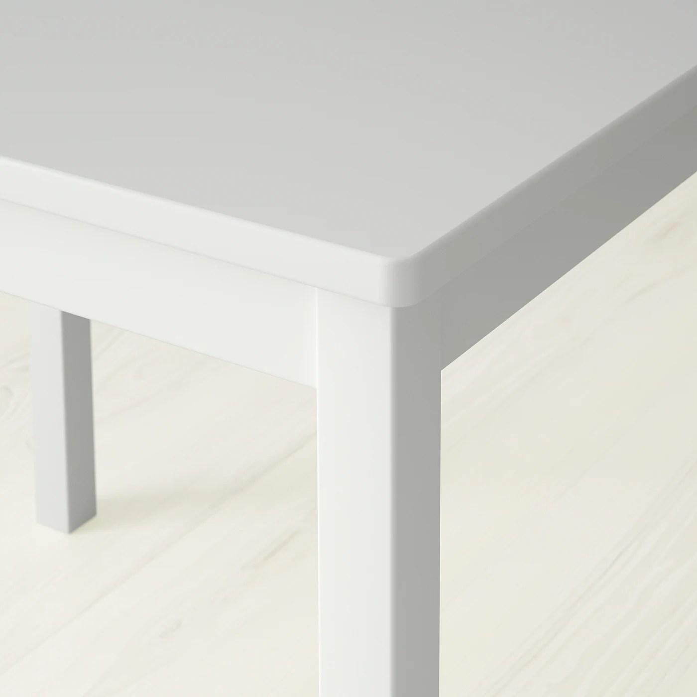 kritter table enfant blanc 59x50 cm