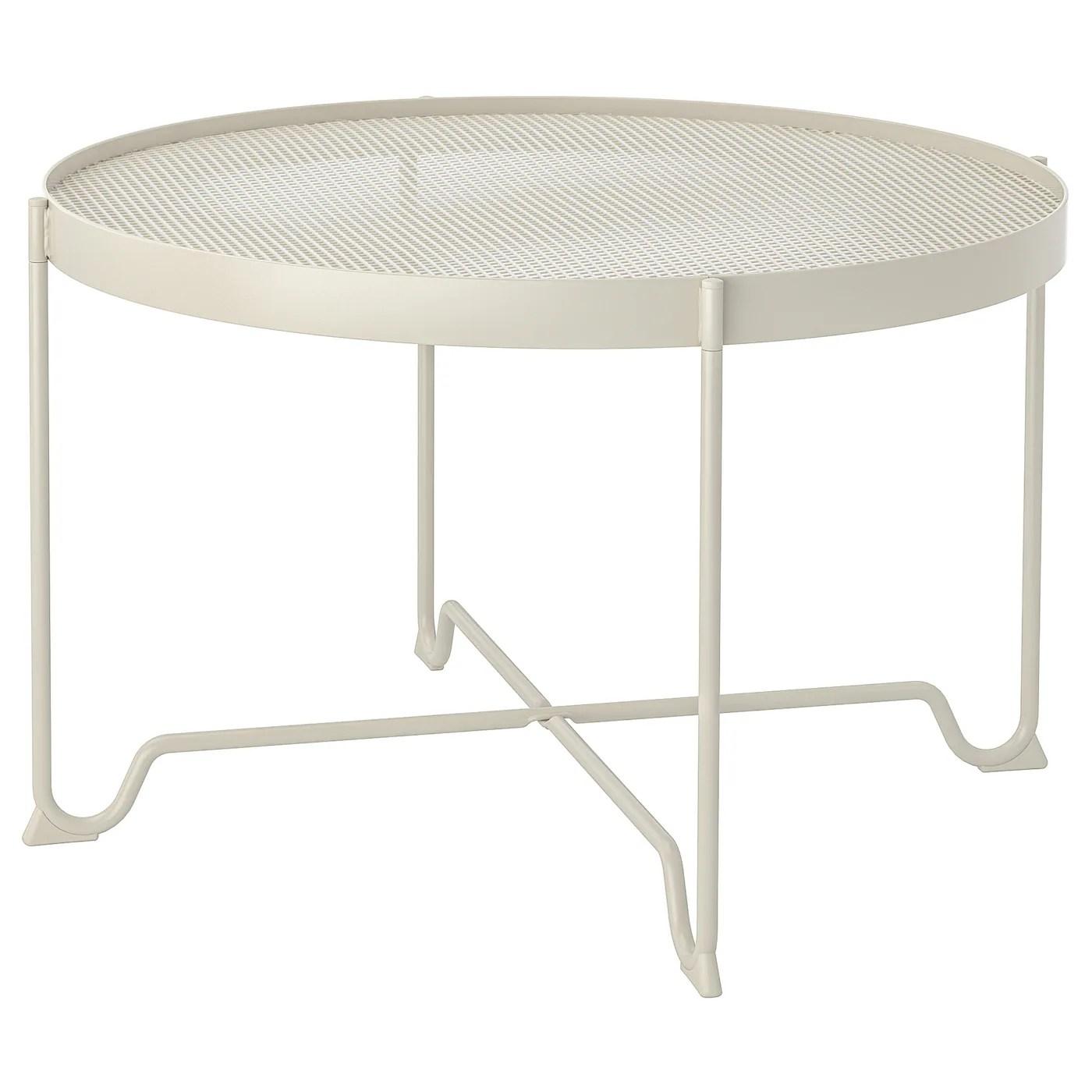 Krokholmen Table De Jardin Basse Beige Ikea Ikea