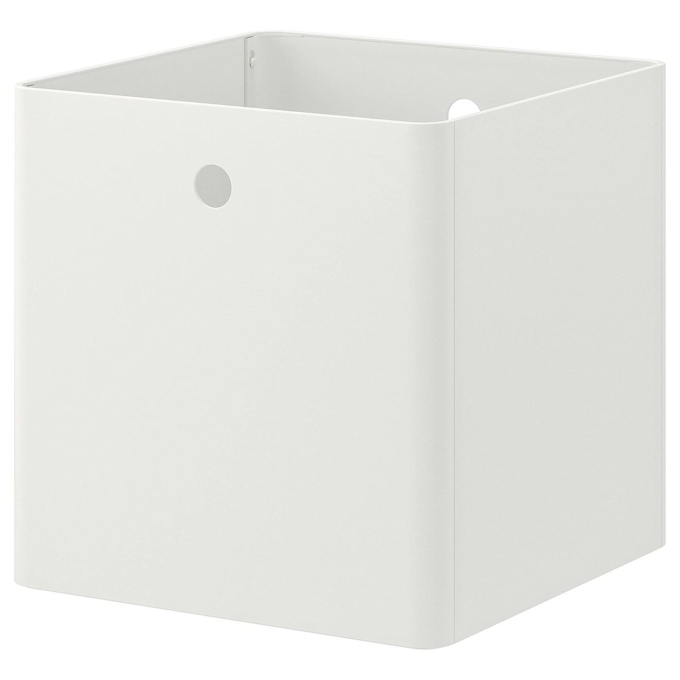 Kuggis Boite De Rangement Blanc Materiau Durable Ikea