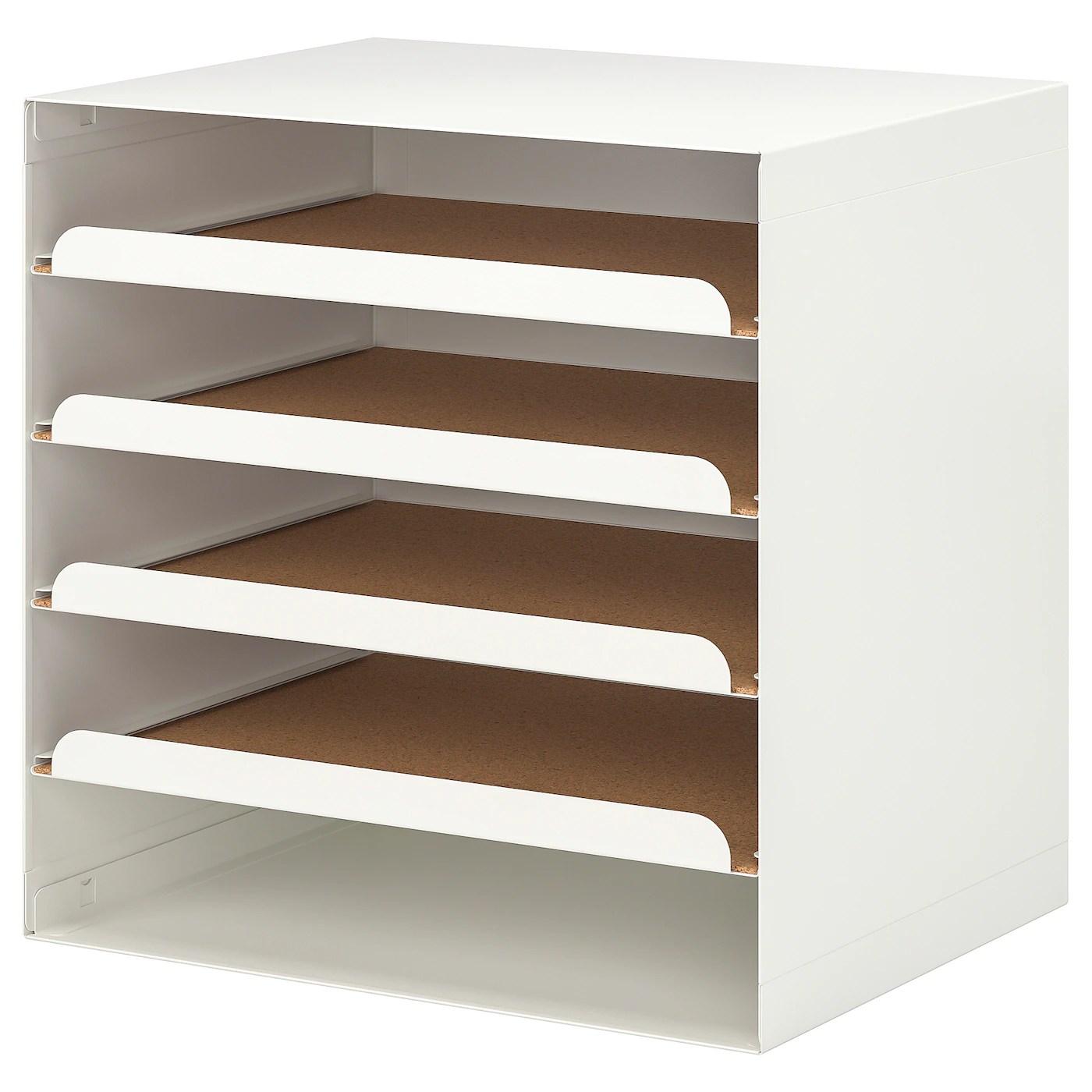Kvissle Corbeille A Courrier Blanc Ikea