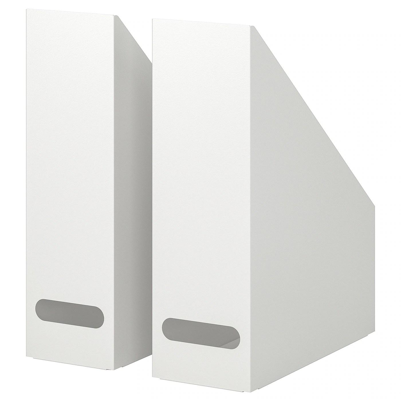 Kvissle Range Revues Lot De 2 Blanc Ikea