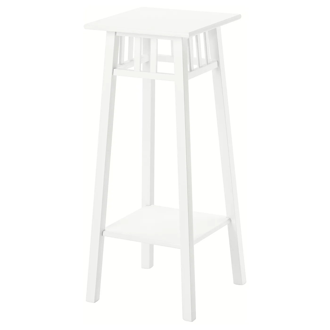 Lantliv Piedestal Blanc 78 Cm Materiau Durable Ikea