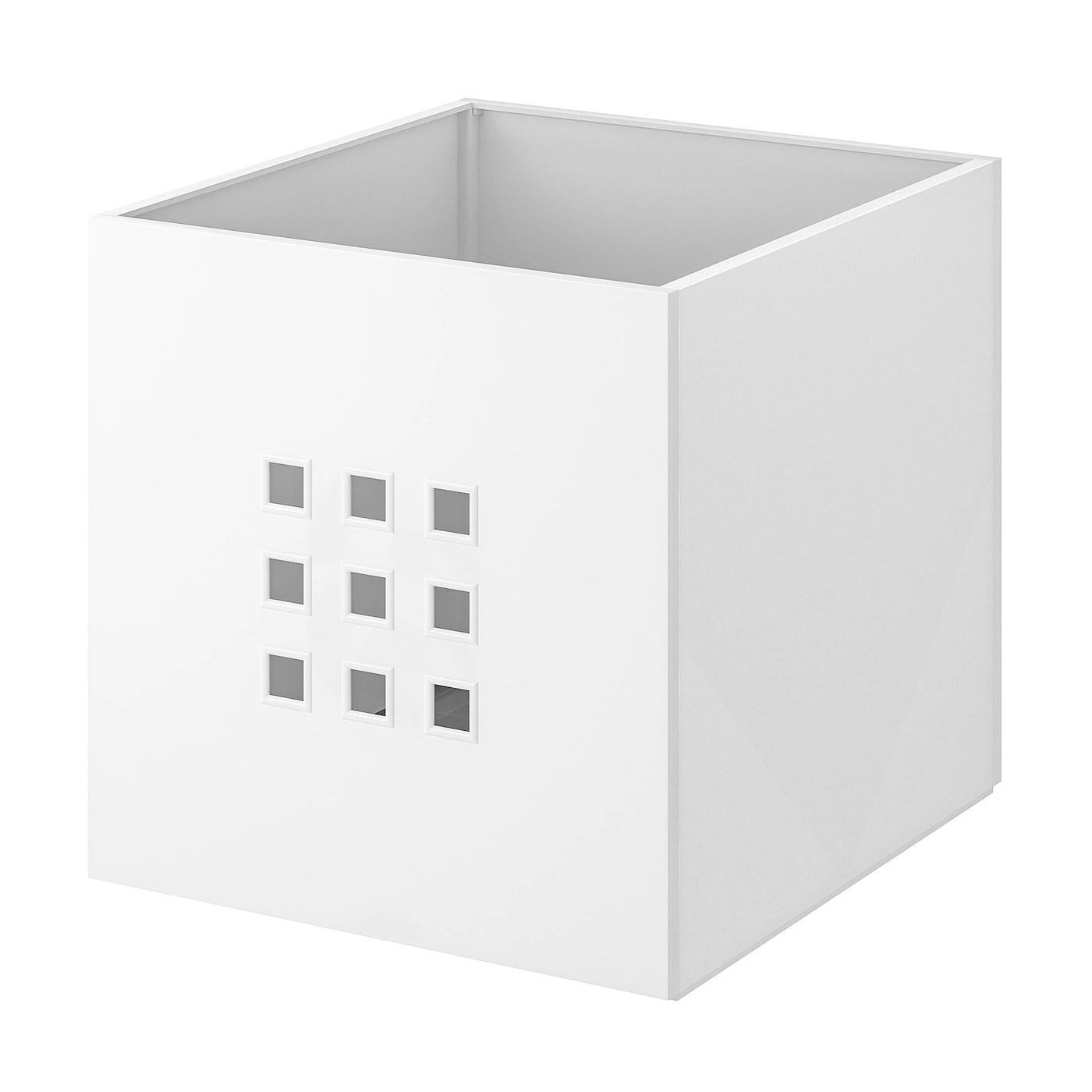 Lekman Boite Blanc 33x37x33 Cm Ikea