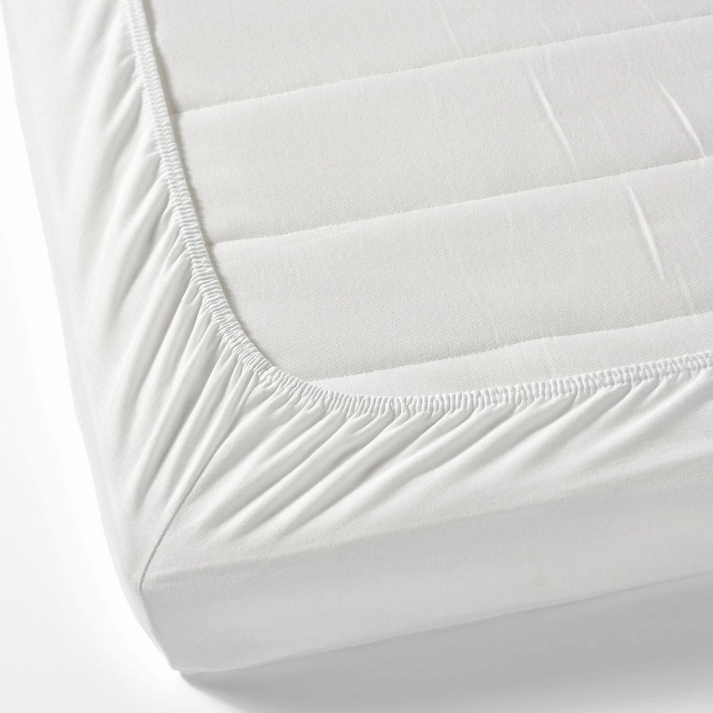 Len Drap Housse Blanc 70x160 Cm Materiau Durable Ikea