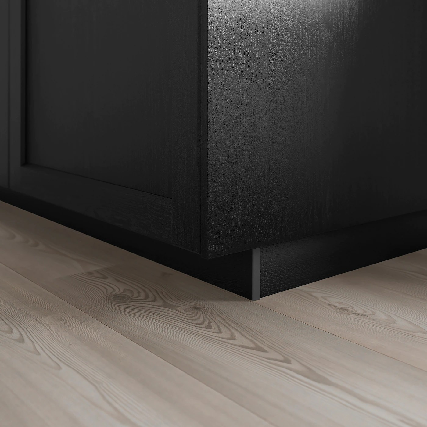 Lerhyttan Plinthe Teinte Noir Ikea