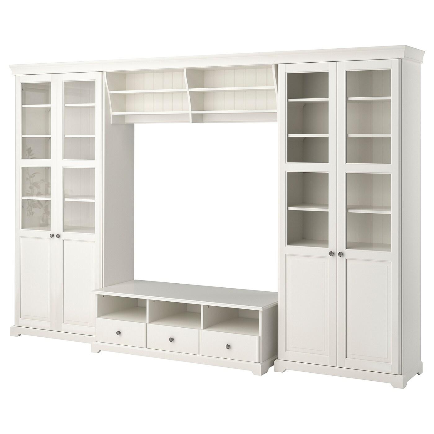 liatorp combinaison meuble tv blanc 332x214 cm