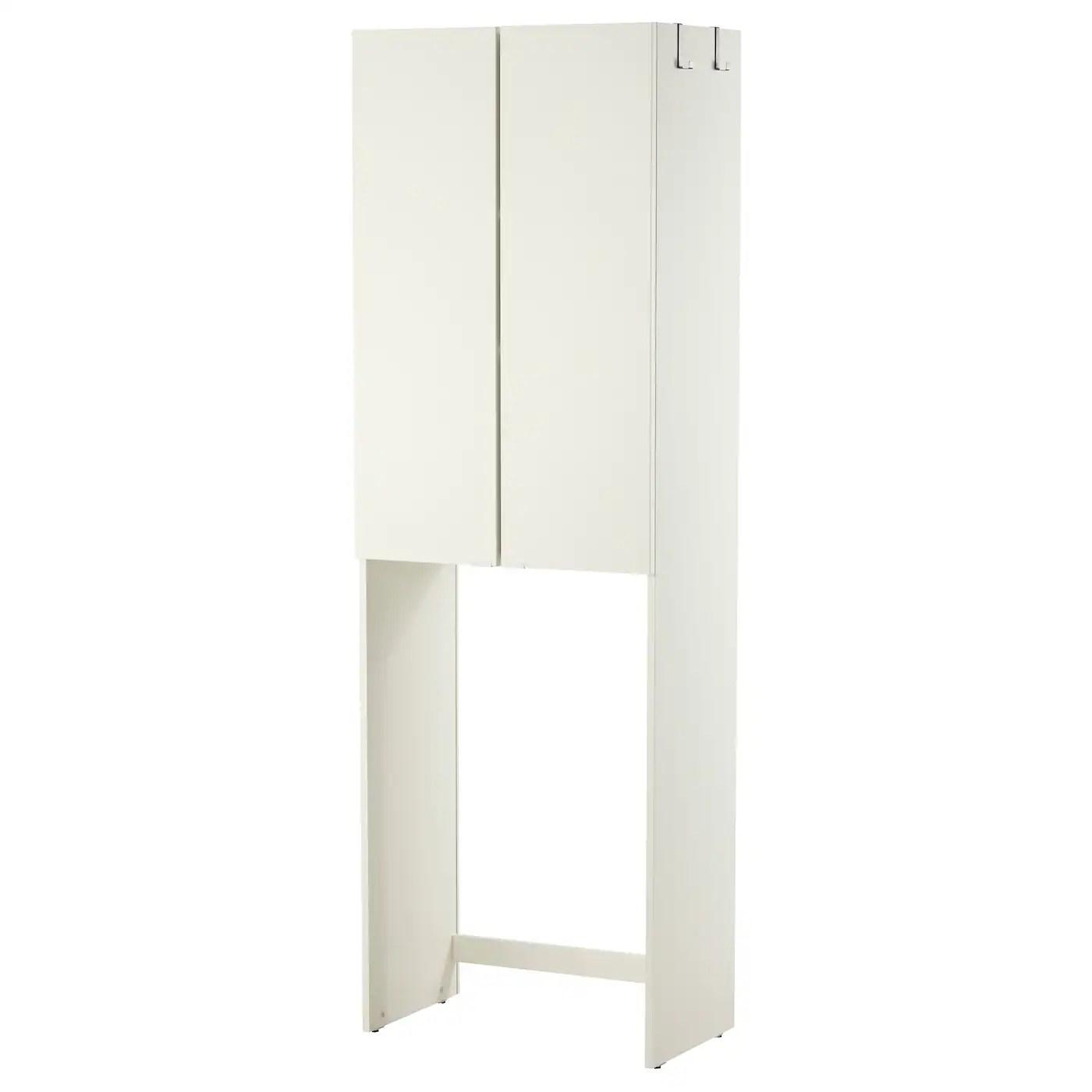 Lillangen Meuble Pour Machine A Laver Blanc 64x38x195 Cm Ikea