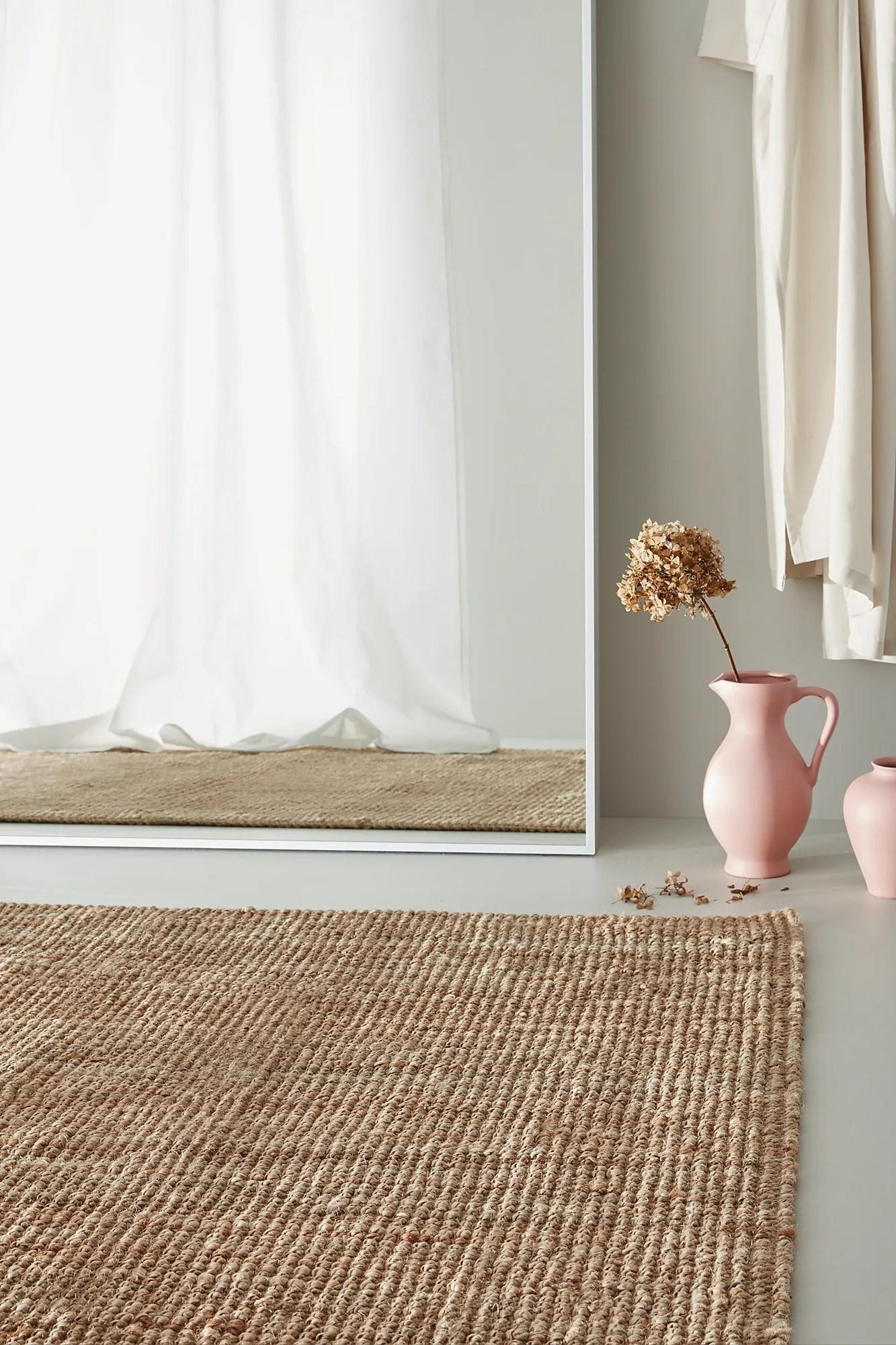 lohals tapis tisse a plat naturel 200x300 cm