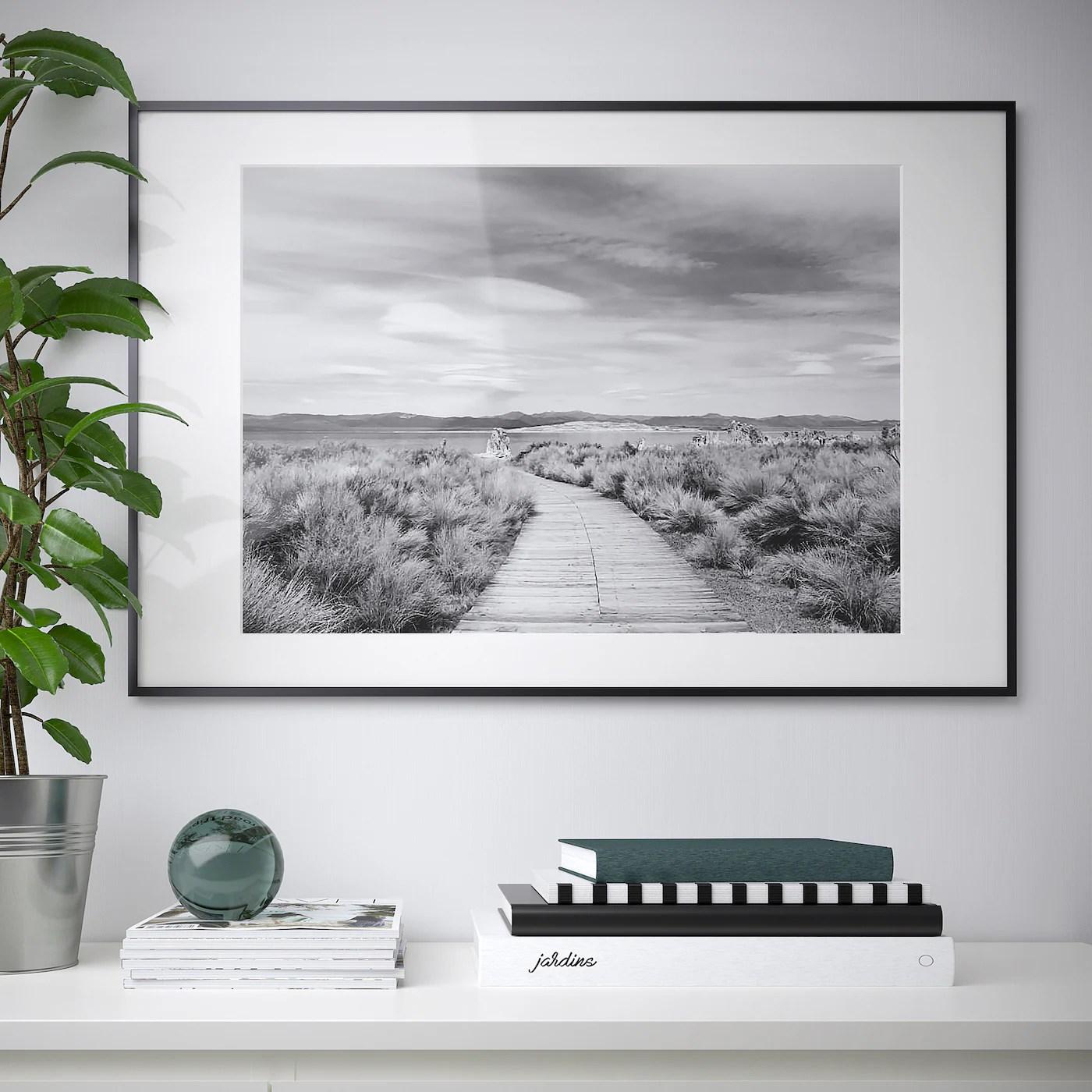 Lomviken Cadre Noir 61x91 Cm Ikea