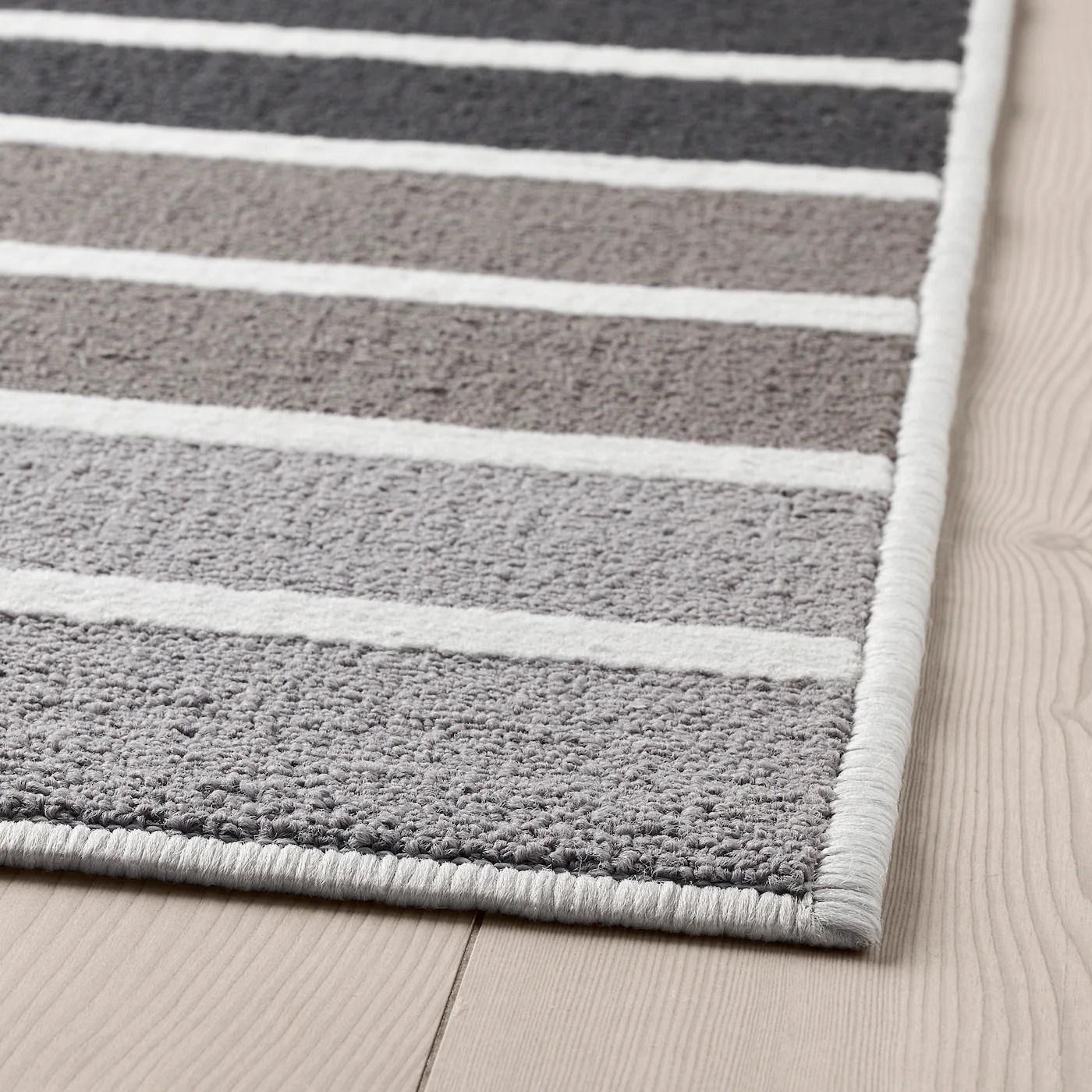 lumsas tapis poils ras gris multicolore 120x180 cm