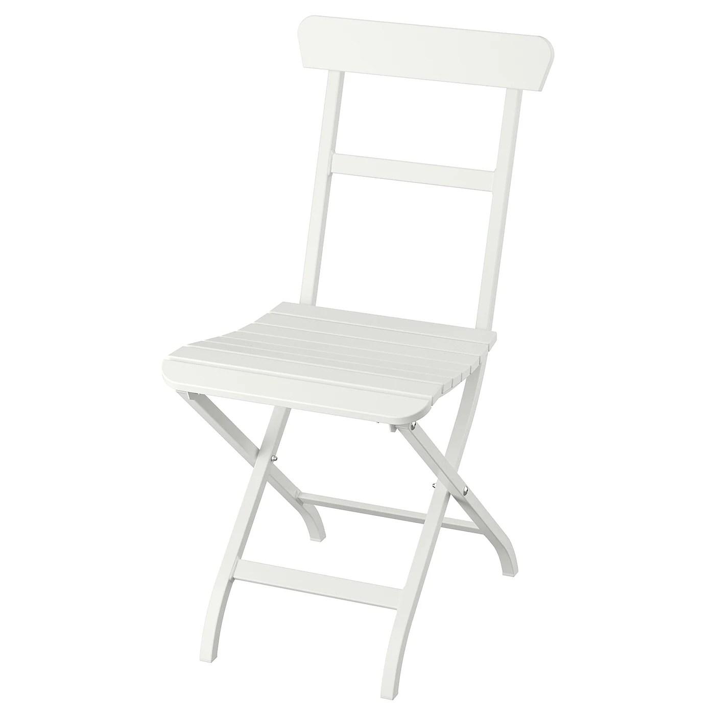 Malaro Chaise Blanc Pliable Blanc Ikea Ikea