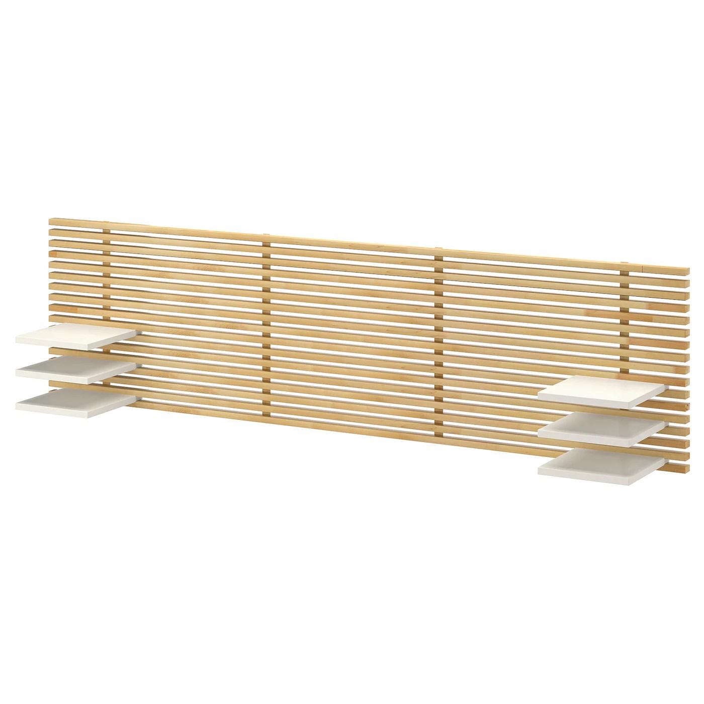 Mandal Tete De Lit Bouleau Blanc 240 Cm Materiau Durable Ikea