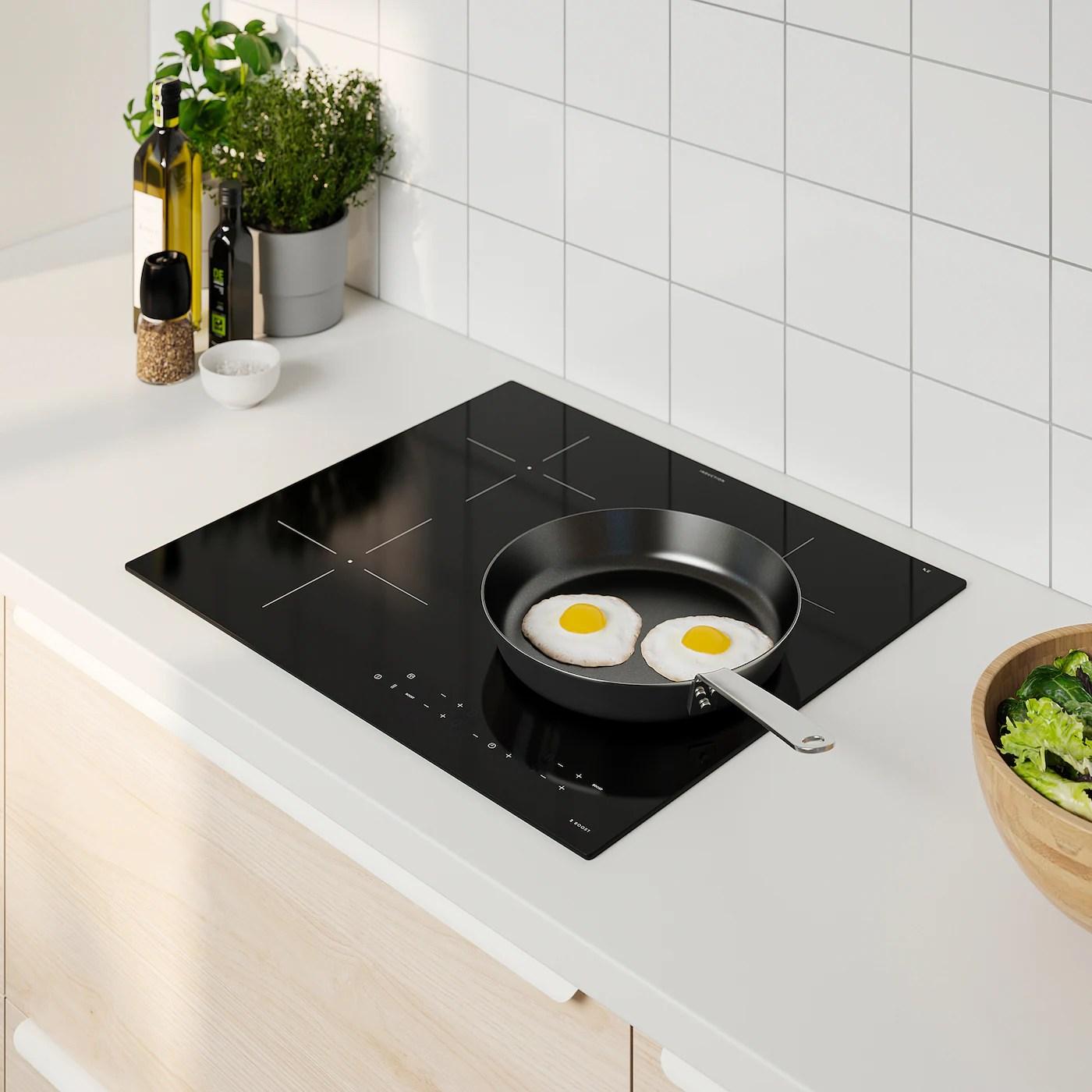 matmassig table de cuisson induction ikea 300 noir 59 cm