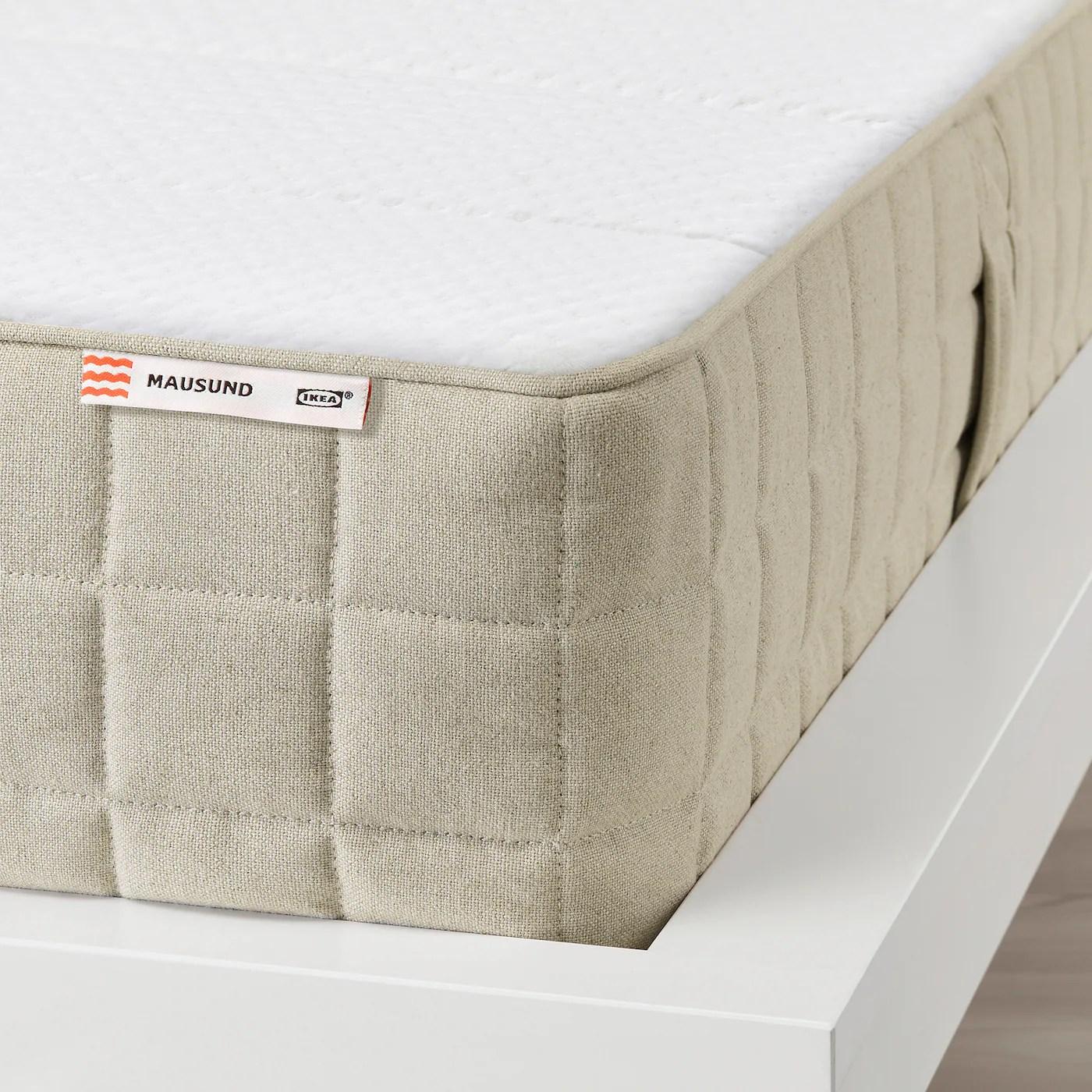Mausund Matelas Latex Naturel Mi Ferme Naturel 160x200 Cm Ikea