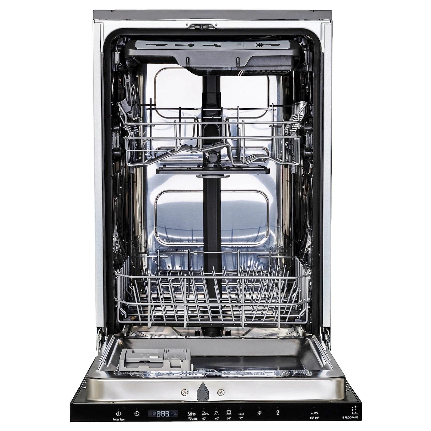 Medelstor Lave Vaisselle Encastrable Ikea 500 45 Cm Ikea