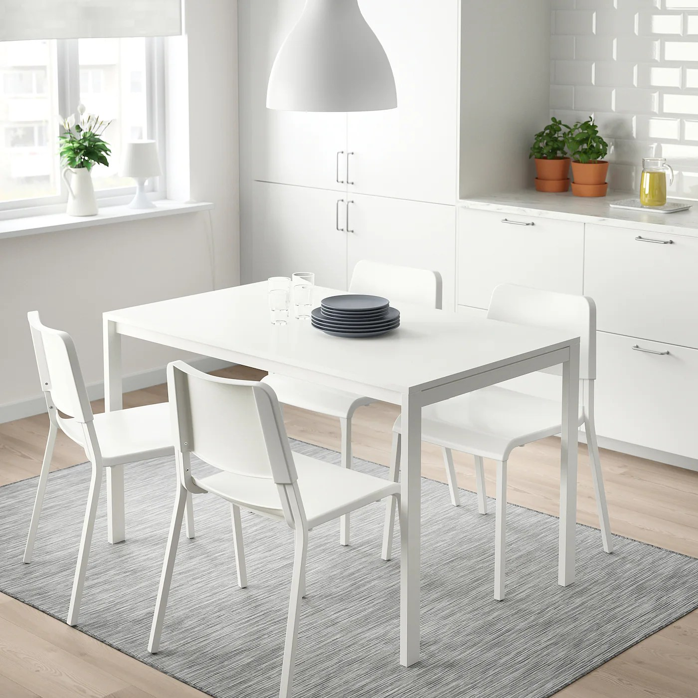 Melltorp Table Blanc 125x75 Cm Ikea