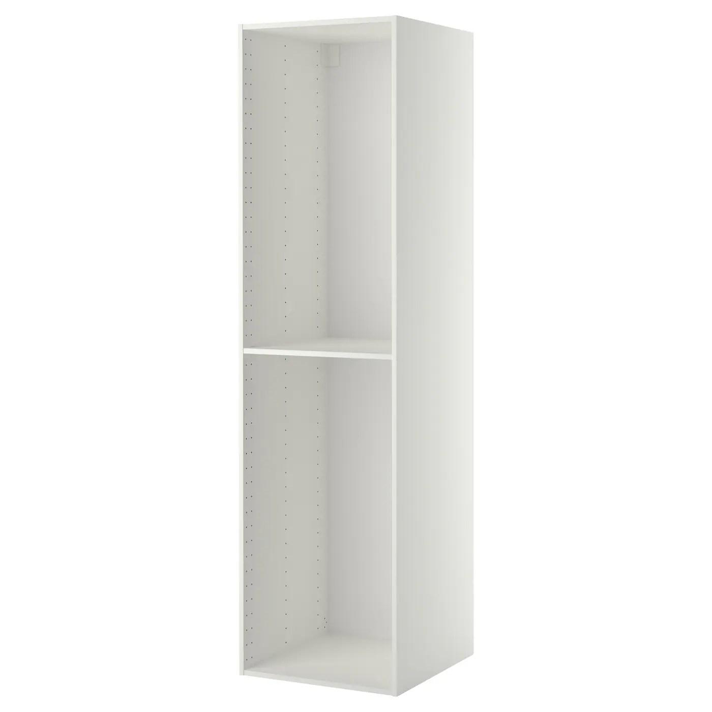 metod structure element armoire blanc 60x60x220 cm