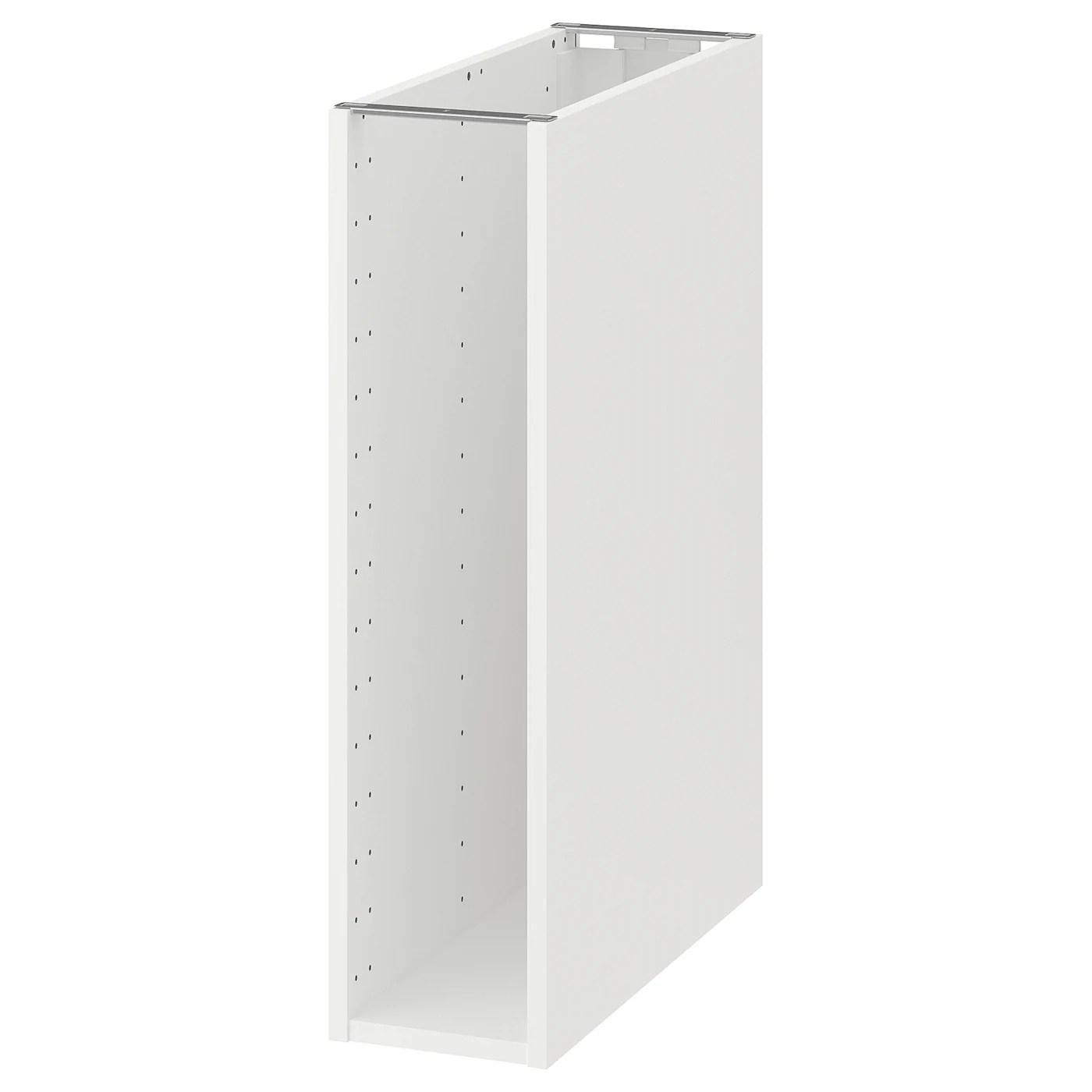 Metod Structure Element Bas Blanc 20x60x80 Cm Ikea