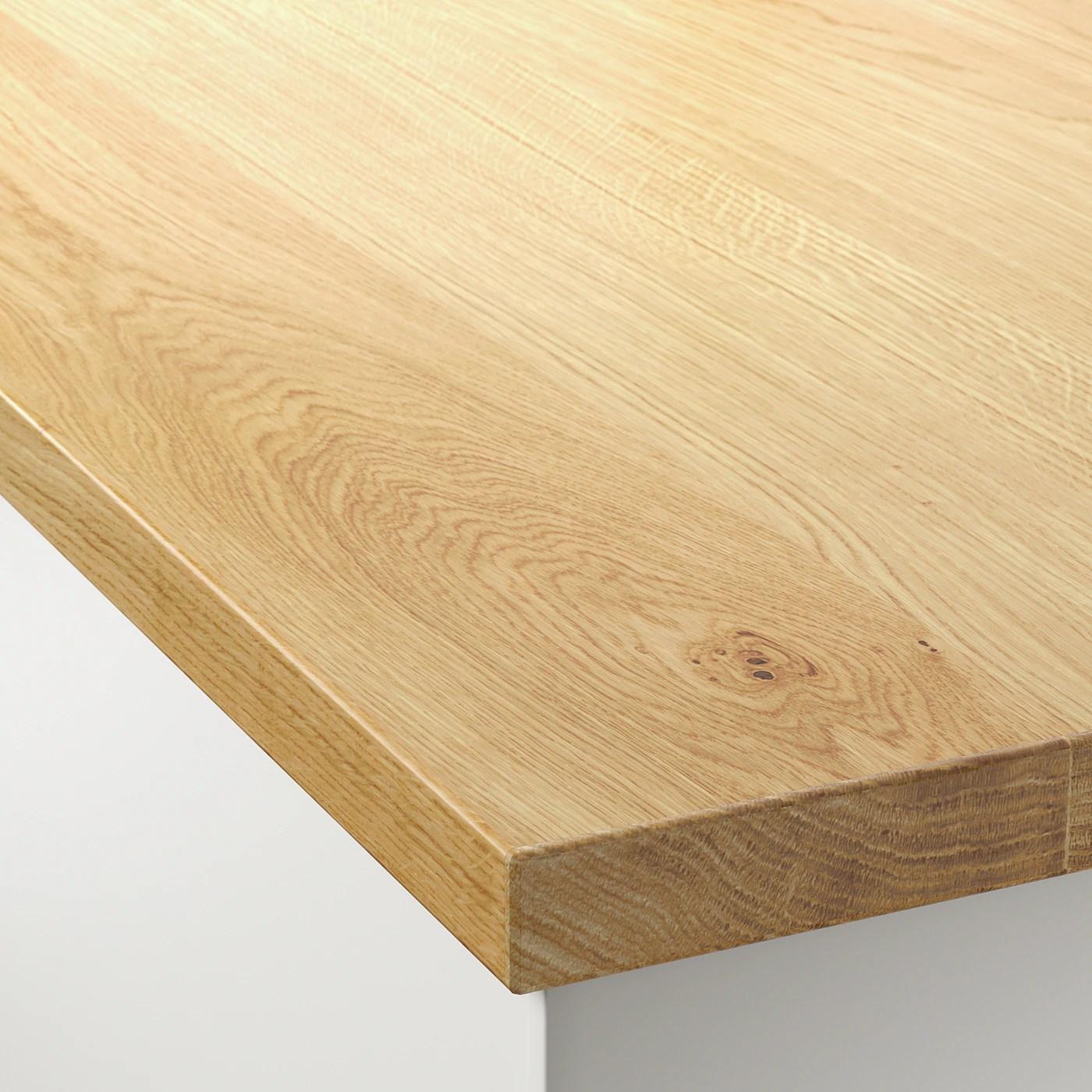 Mollekulla Plan De Travail Chene Plaque 186x3 Ikea