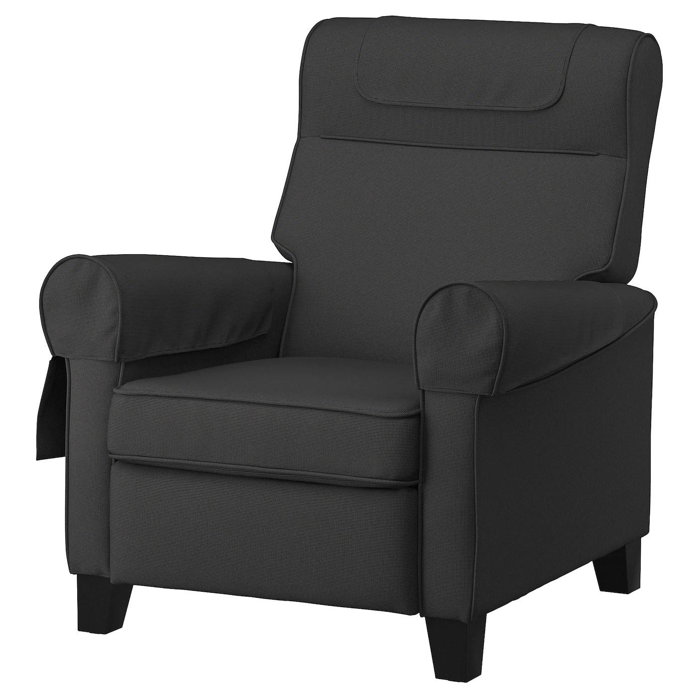 muren fauteuil confort remmarn gris fonce