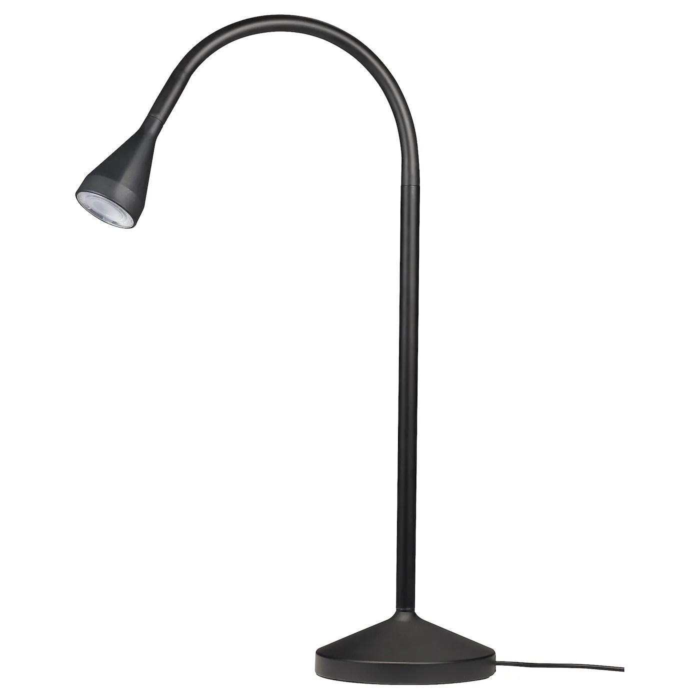 navlinge lampe de bureau a led noir