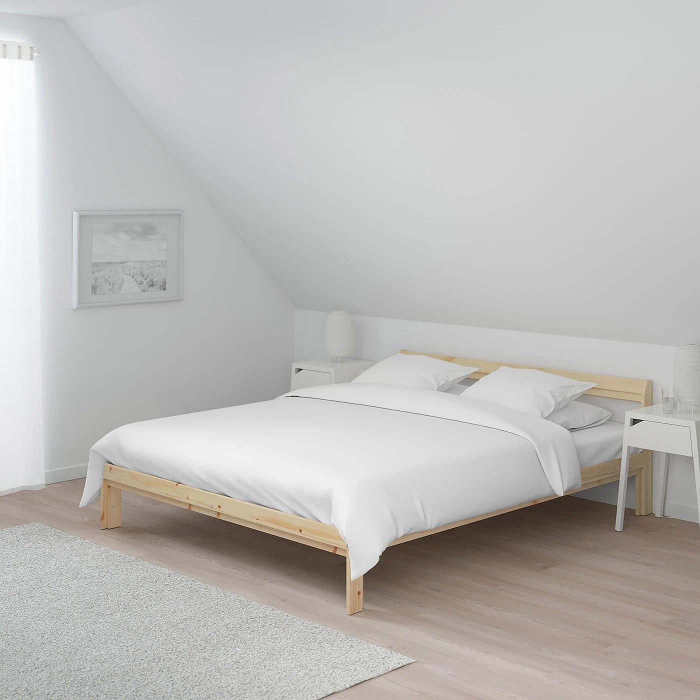 Neiden Cadre De Lit Pin 140x200 Cm Ikea