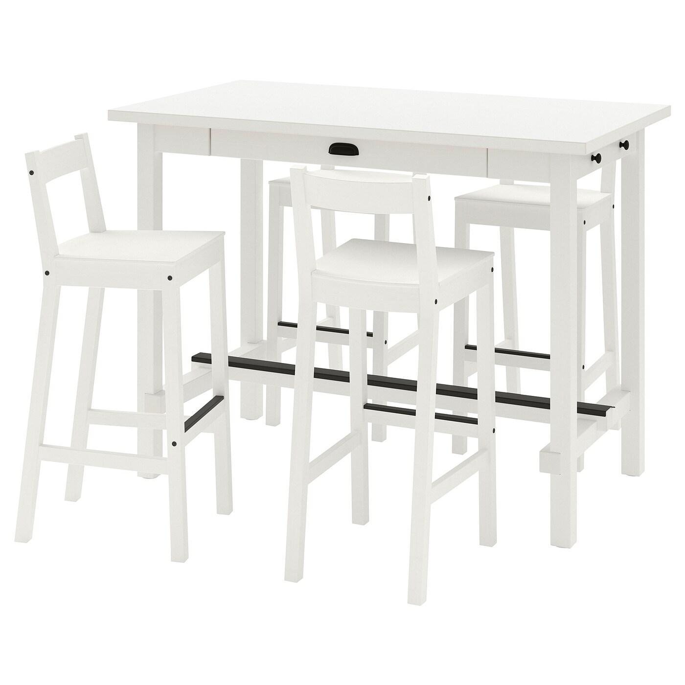 ensemble tables et chaises de bar pas