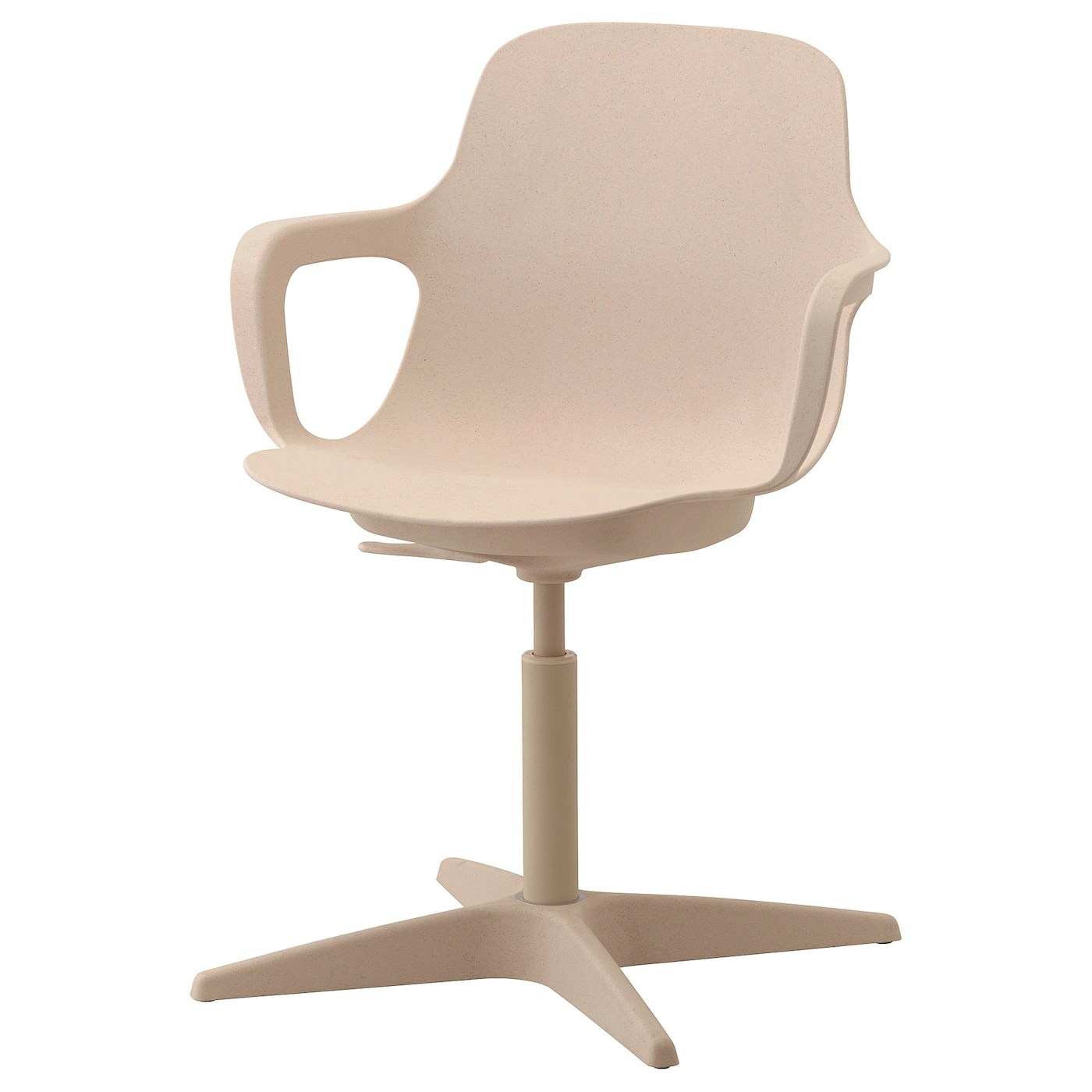 Odger Chaise Pivotante Blanc Beige Ikea