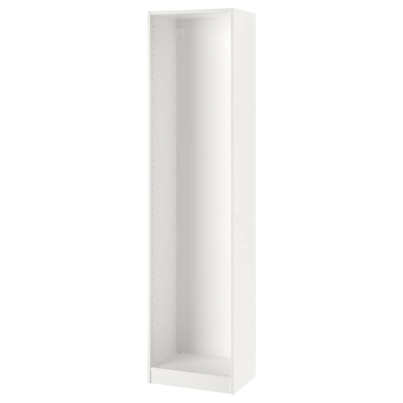 pax caisson d armoire blanc 50x35x201 cm