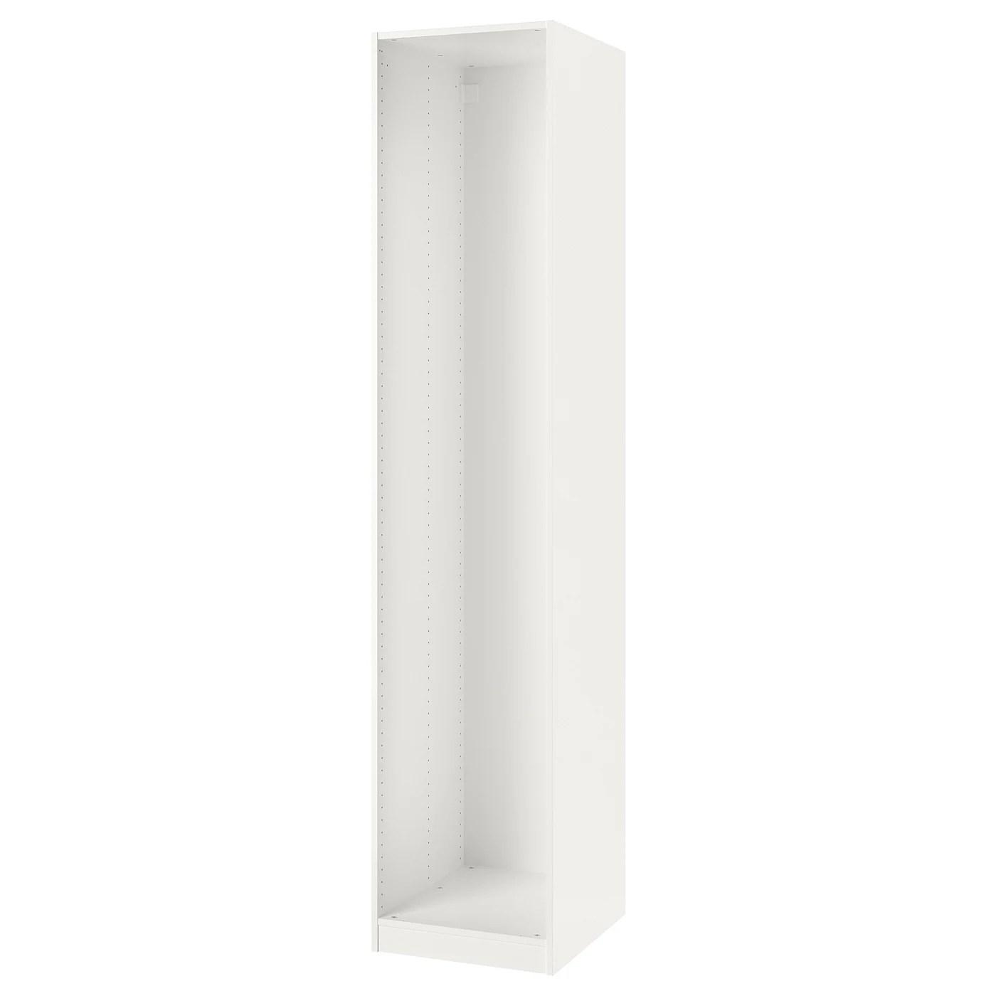 pax caisson d armoire blanc 50x58x236 cm