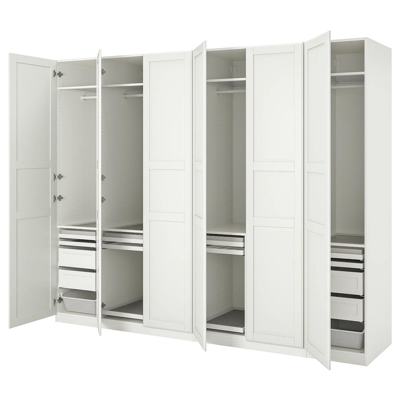 pax armoires avec portes dressing pas