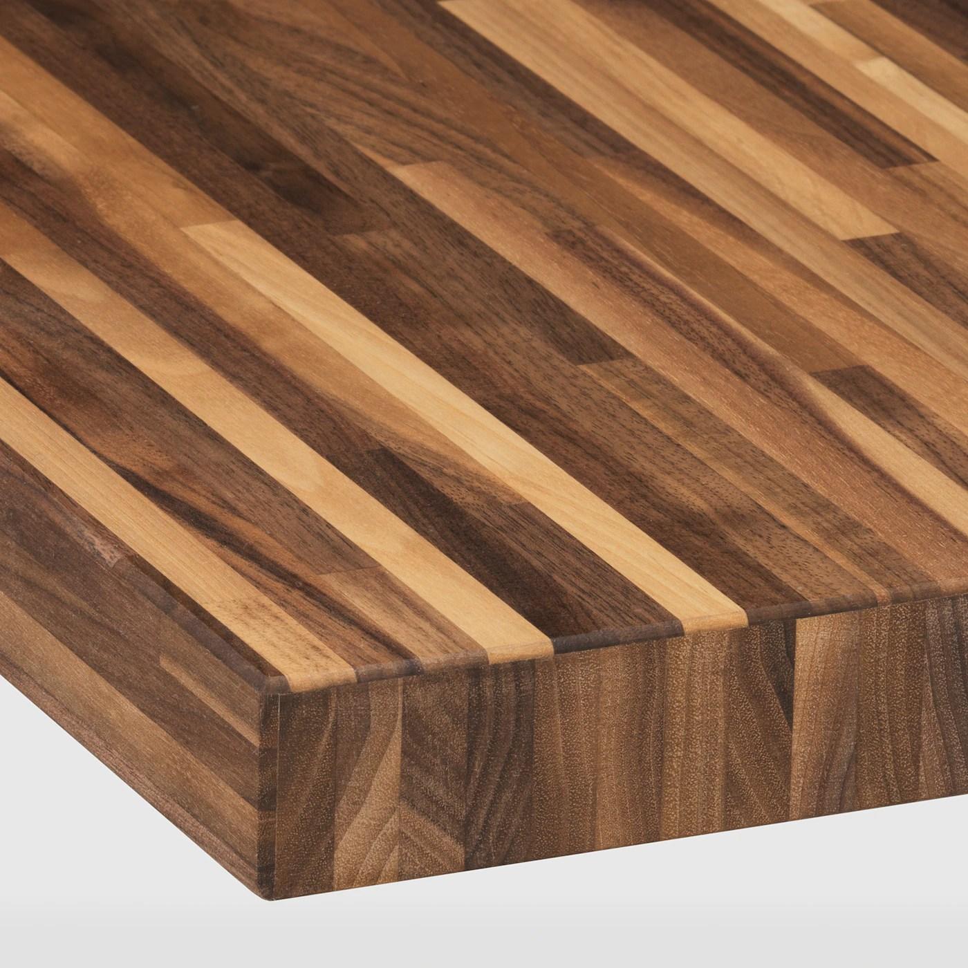 Pinnarp Plan De Travail Noyer Plaque 246x3 Ikea